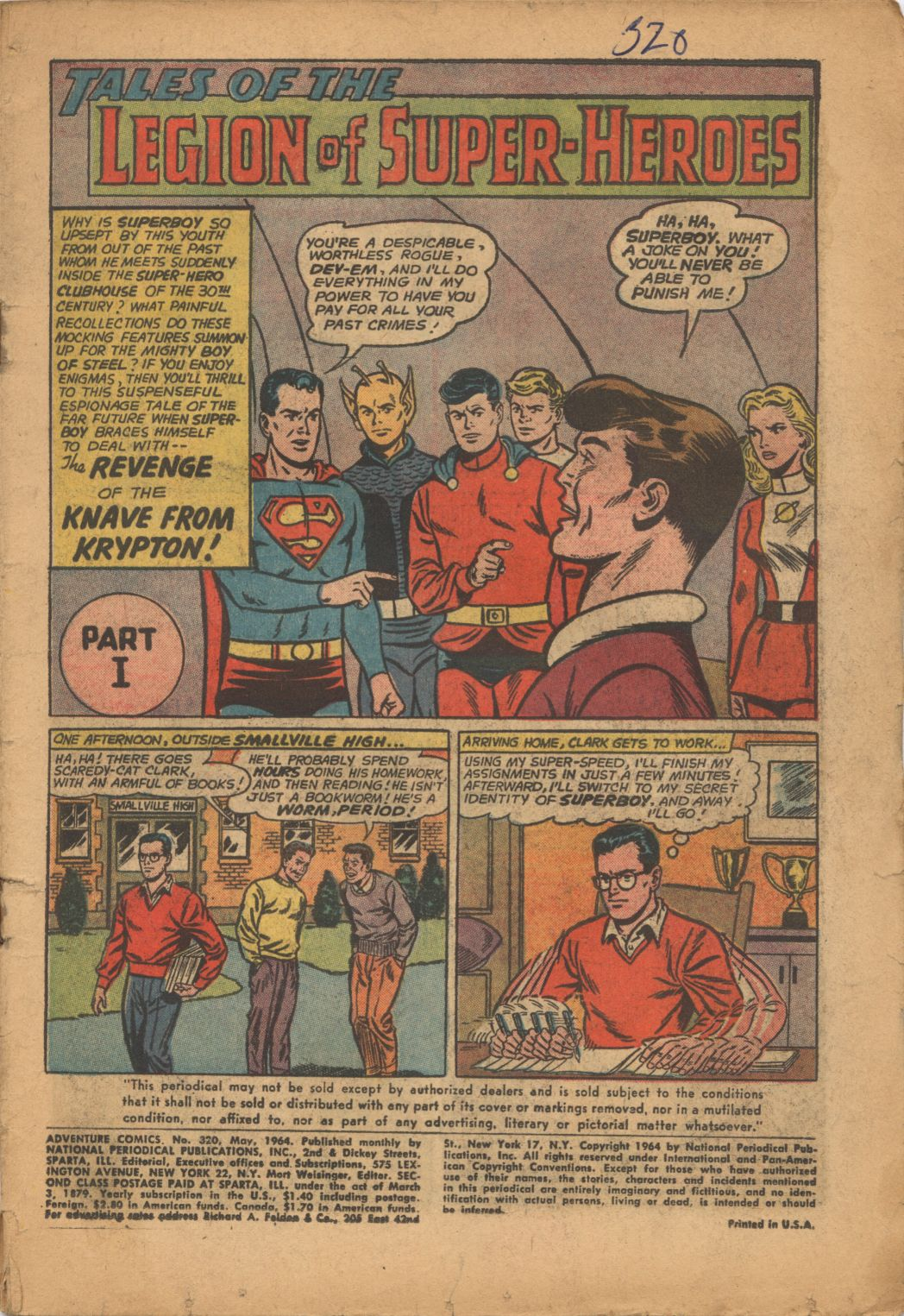Read online Adventure Comics (1938) comic -  Issue #320 - 3