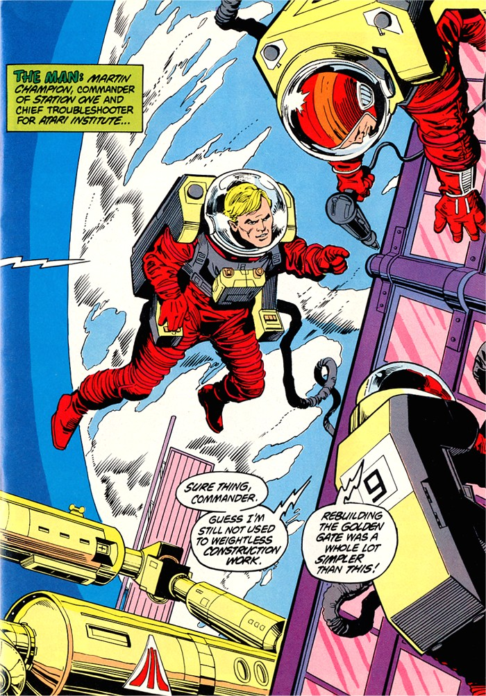 Read online Atari Force (1982) comic -  Issue #1 - 13