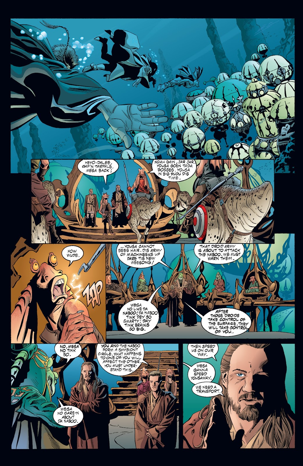 Read online Star Wars Legends: Rise of the Sith - Epic Collection comic -  Issue # TPB 2 (Part 3) - 51