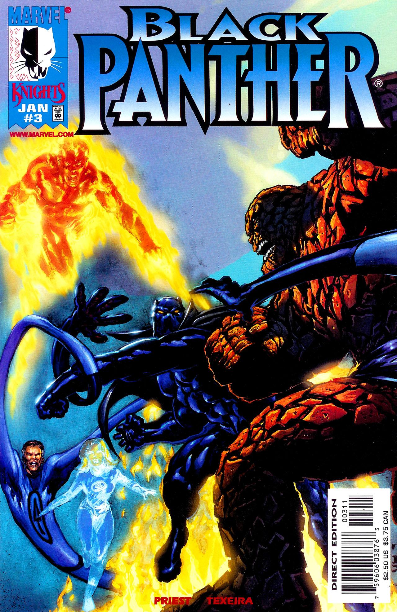 Black Panther (1998) 3 Page 1