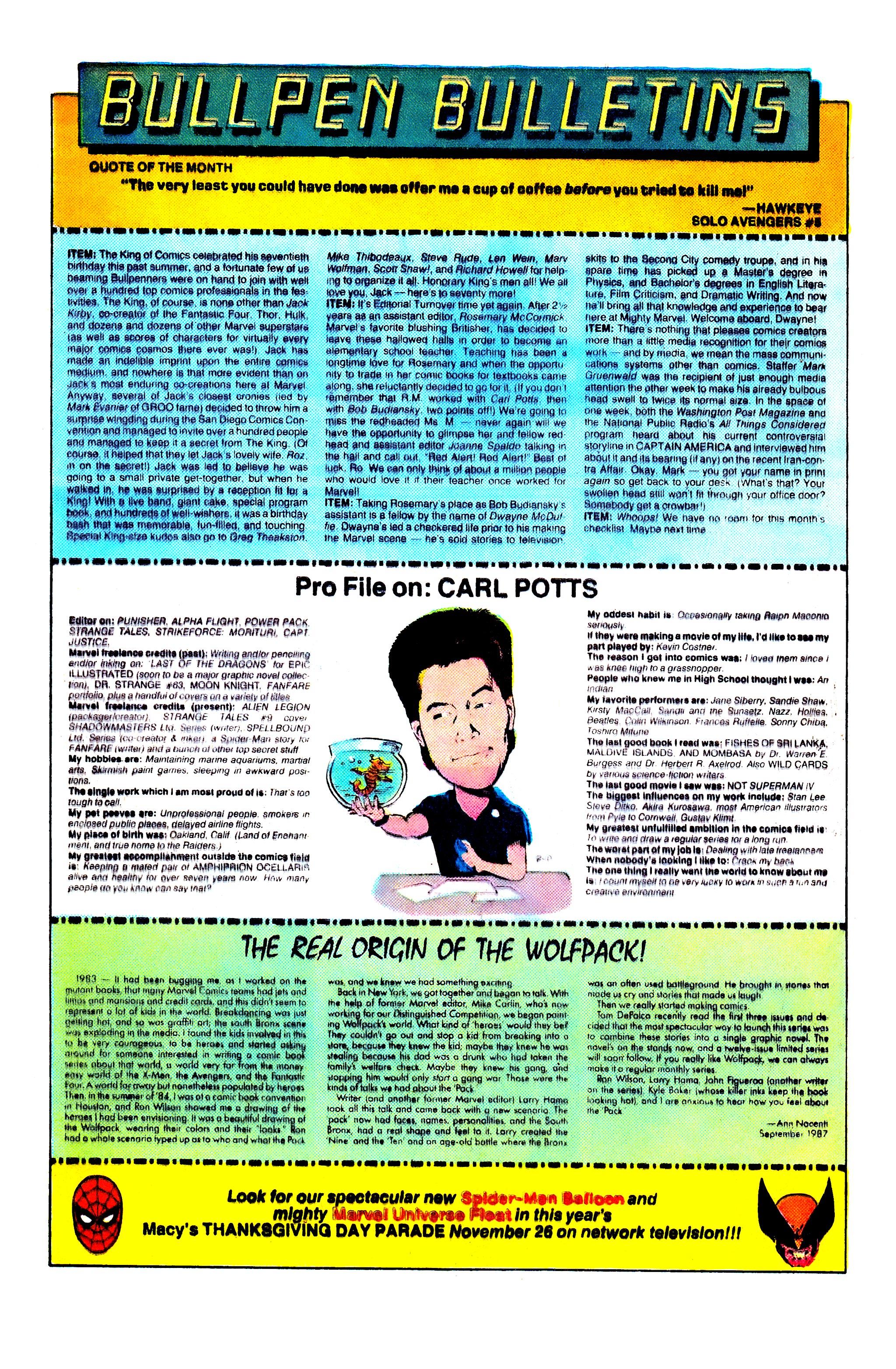 Read online Uncanny X-Men (1963) comic -  Issue #227 - 20