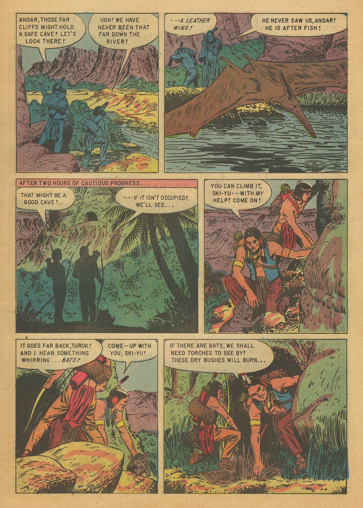 Read online Turok, Son of Stone comic -  Issue #7 - 9