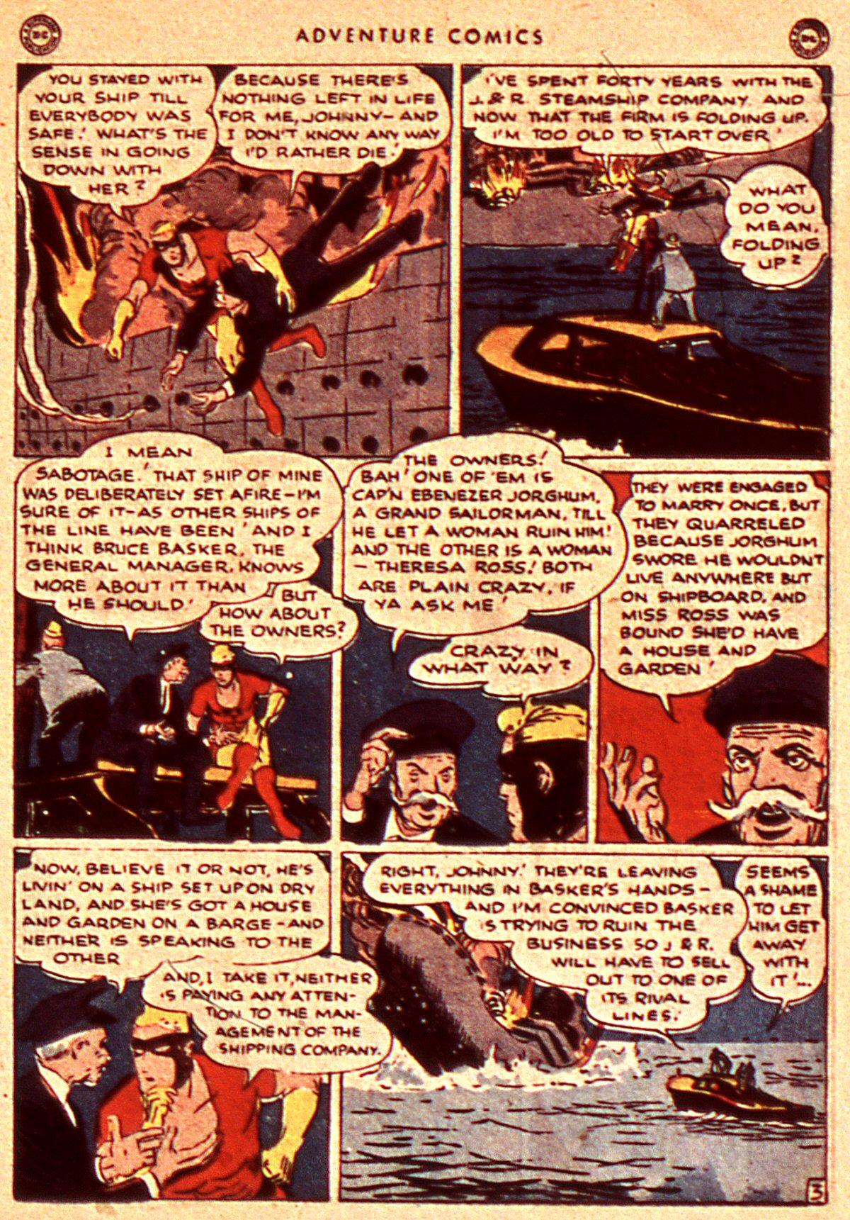 Read online Adventure Comics (1938) comic -  Issue #106 - 23