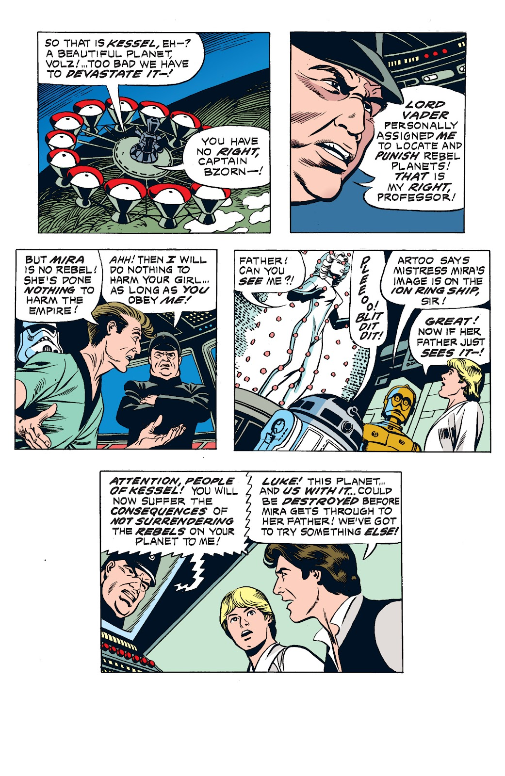 Read online Star Wars Legends: The Newspaper Strips - Epic Collection comic -  Issue # TPB (Part 2) - 91