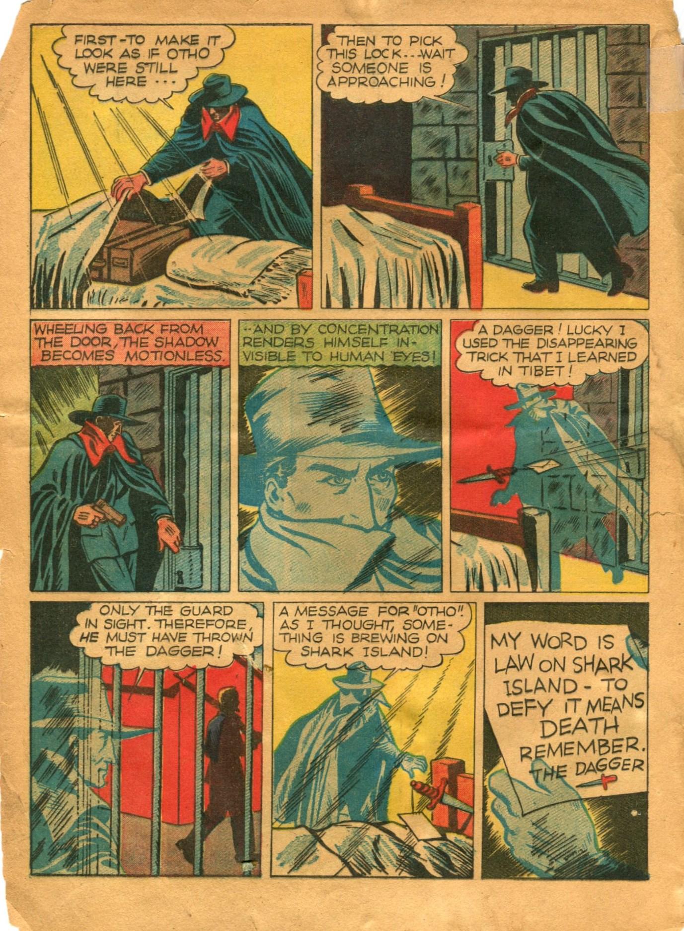 Read online Shadow Comics comic -  Issue #12 - 6
