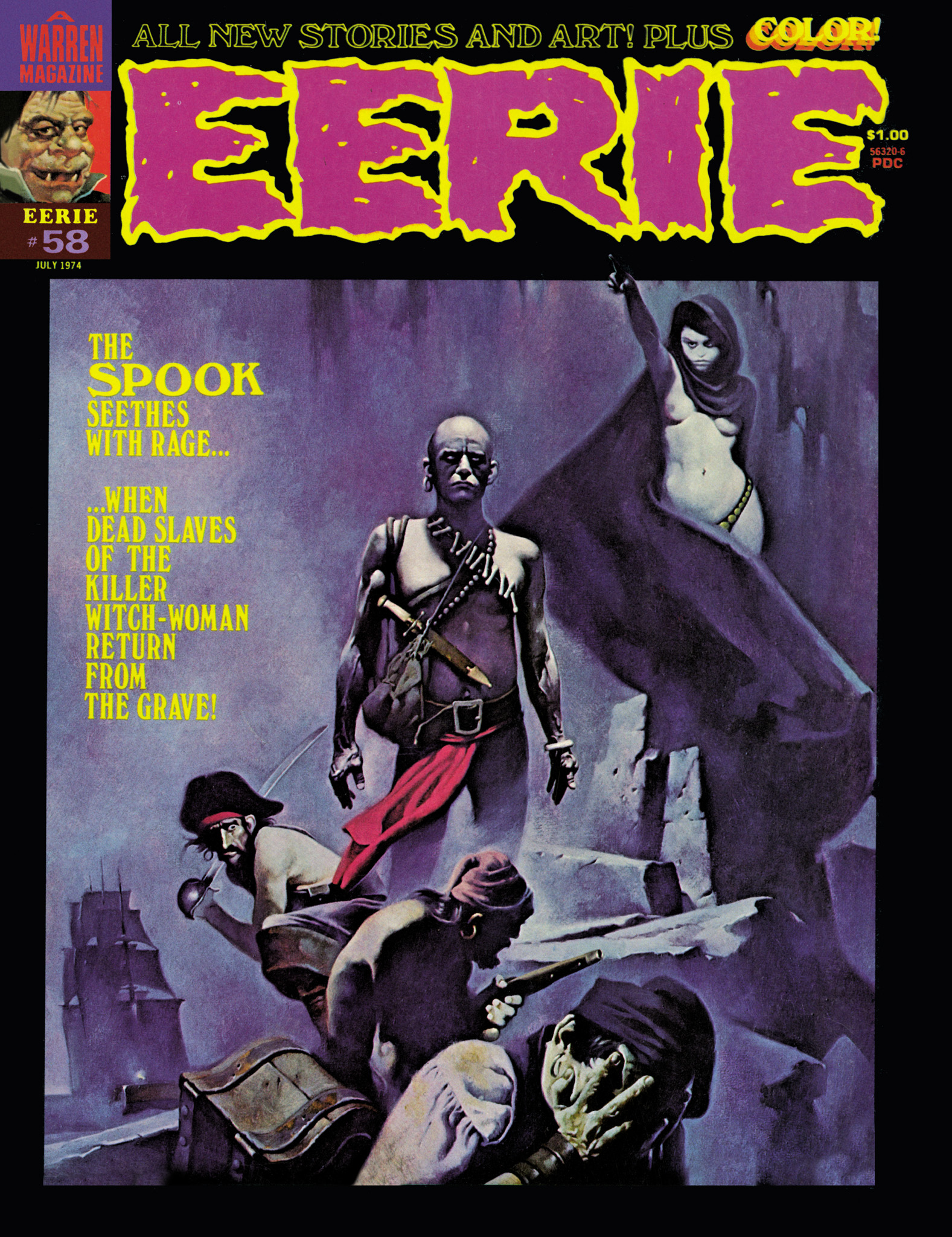 Read online Eerie Archives comic -  Issue # TPB 12 - 132
