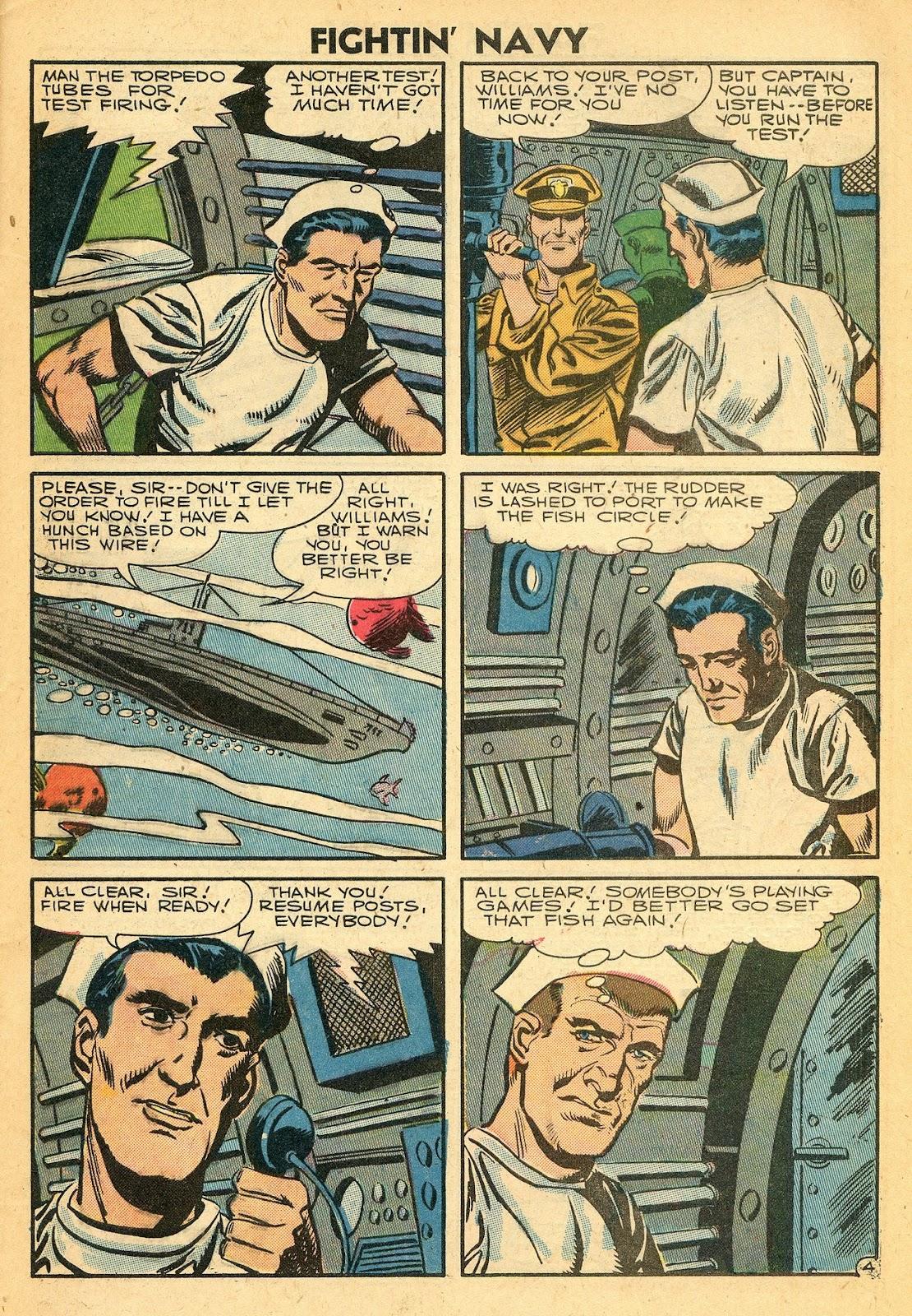 Read online Fightin' Navy comic -  Issue #77 - 29