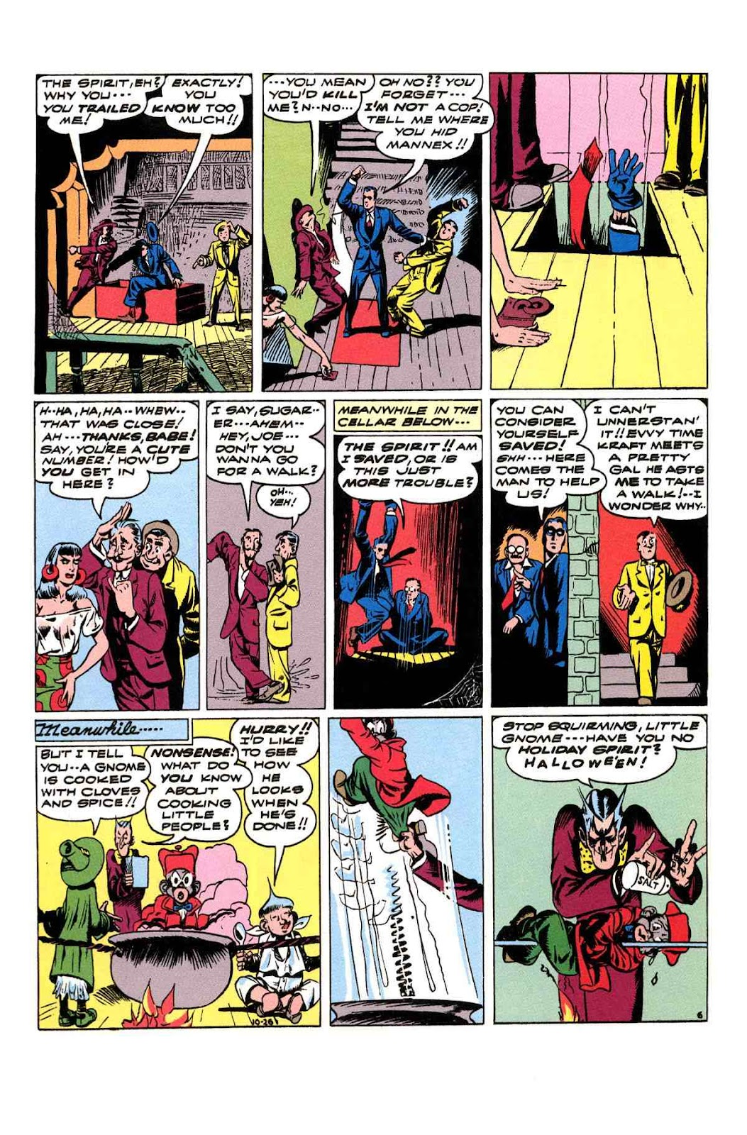 Read online Will Eisner's The Spirit Archives comic -  Issue # TPB 3 (Part 2) - 35