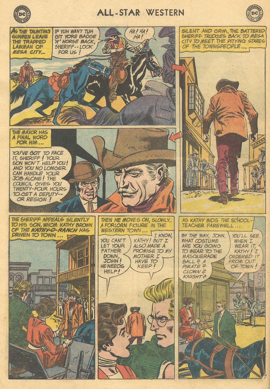 Read online All-Star Western (1951) comic -  Issue #108 - 12