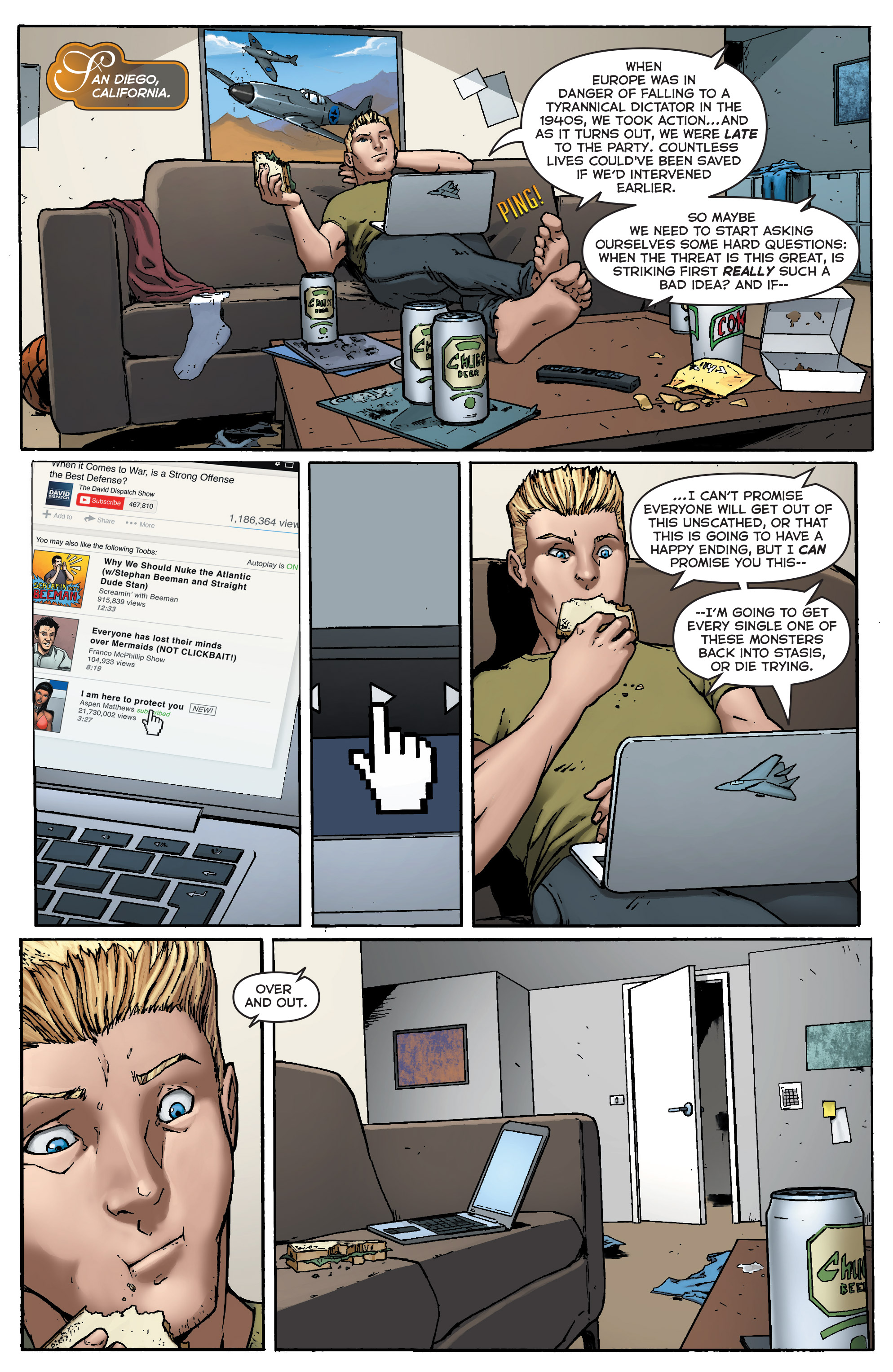 Read online Fathom (2017) comic -  Issue #5 - 5