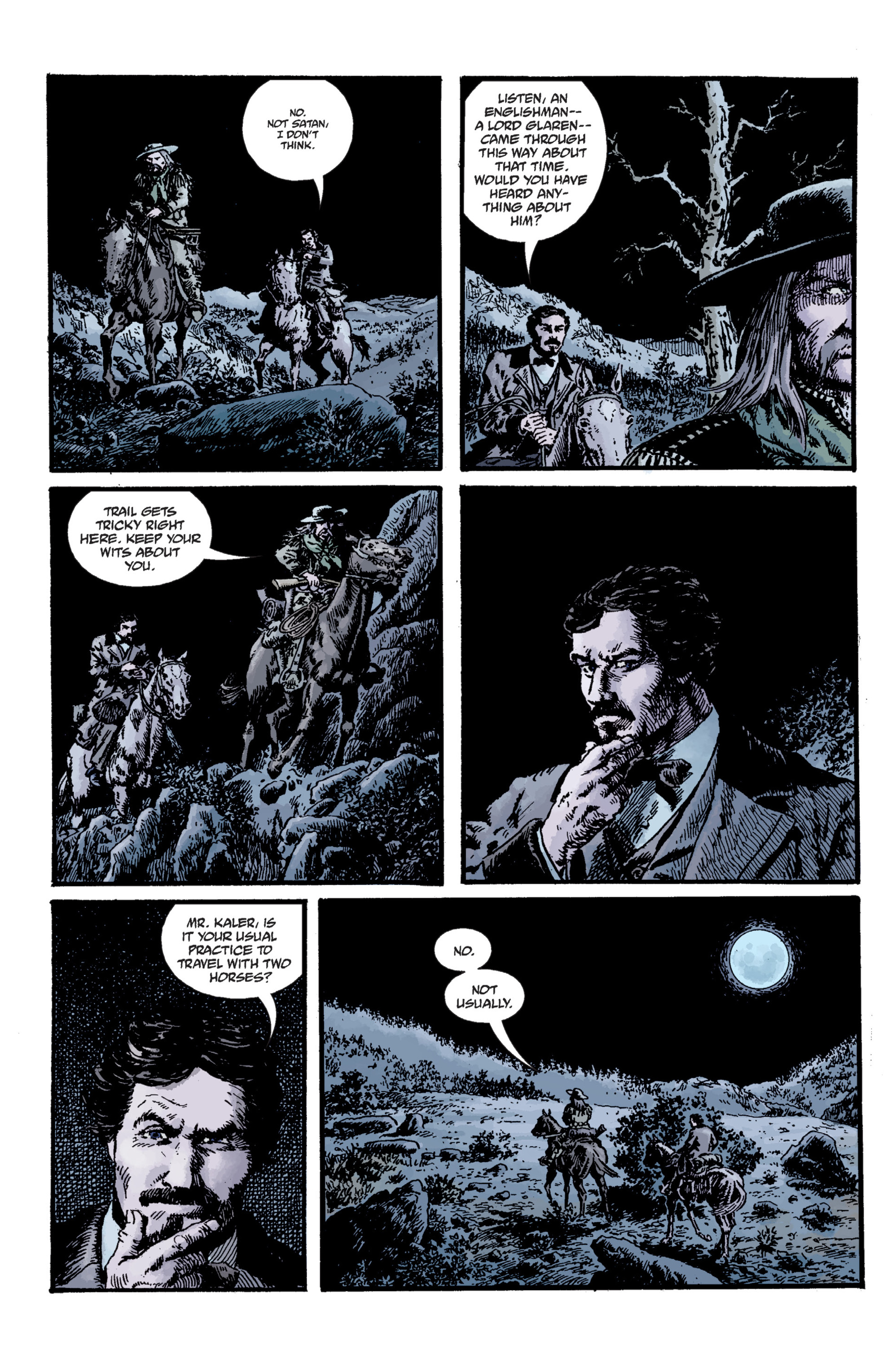 Read online Sir Edward Grey, Witchfinder: Lost and Gone Forever comic -  Issue # TPB - 27