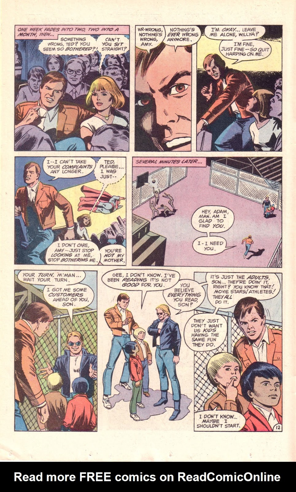Read online The New Teen Titans (Drug Awareness Specials) comic -  Issue #1 - 14