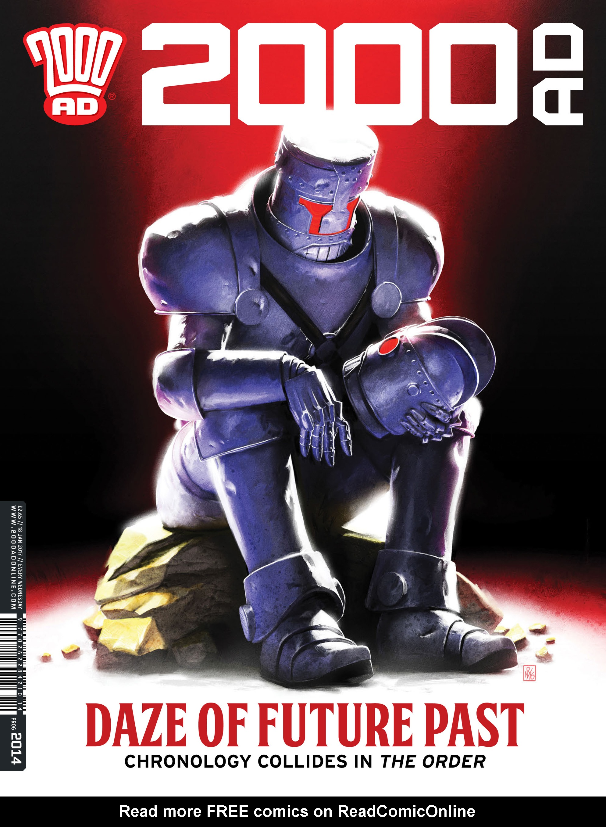 Read online 2000 AD comic -  Issue #2014 - 1