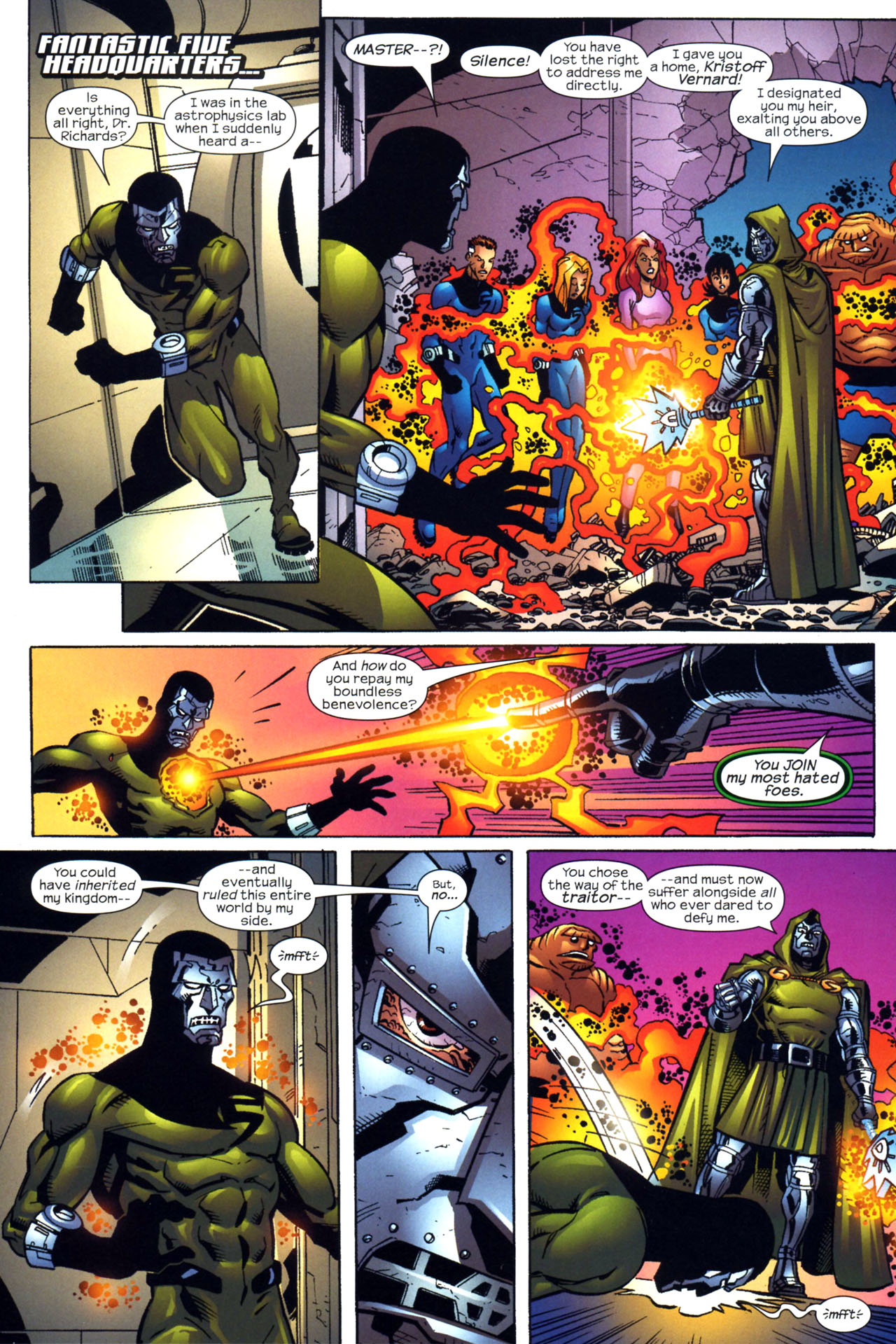 Read online Fantastic Five (2007) comic -  Issue #2 - 8