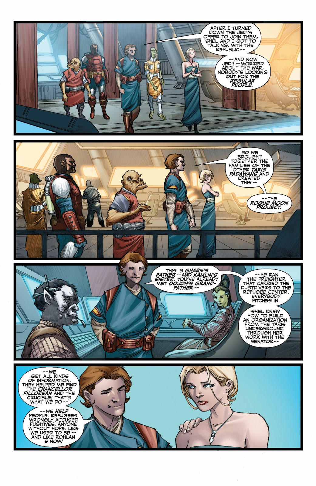Read online Star Wars Legends: The Old Republic - Epic Collection comic -  Issue # TPB 3 (Part 3) - 52