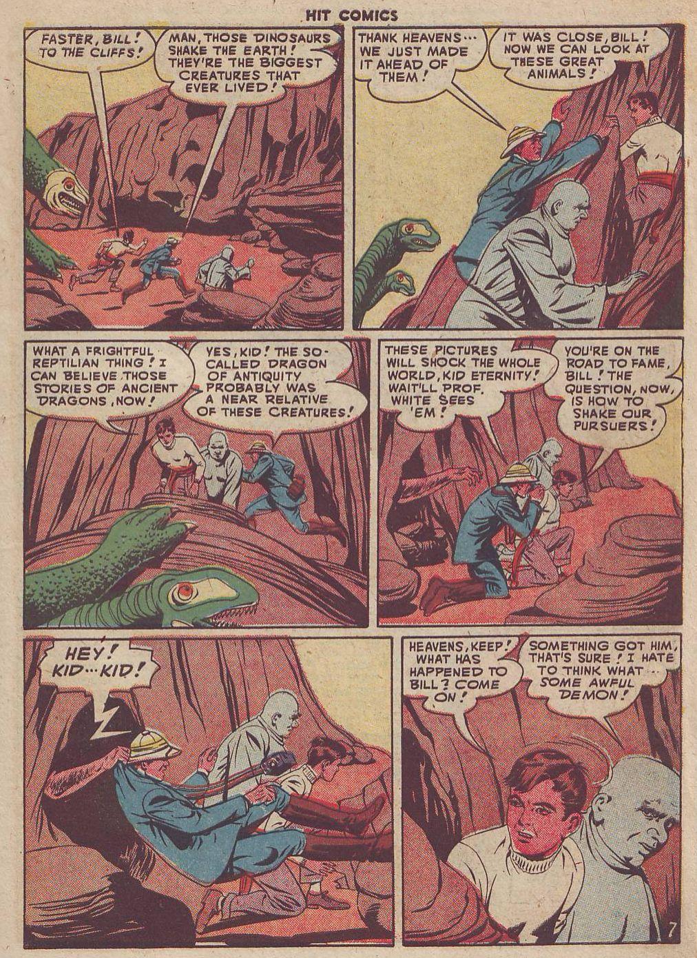 Read online Hit Comics comic -  Issue #51 - 9