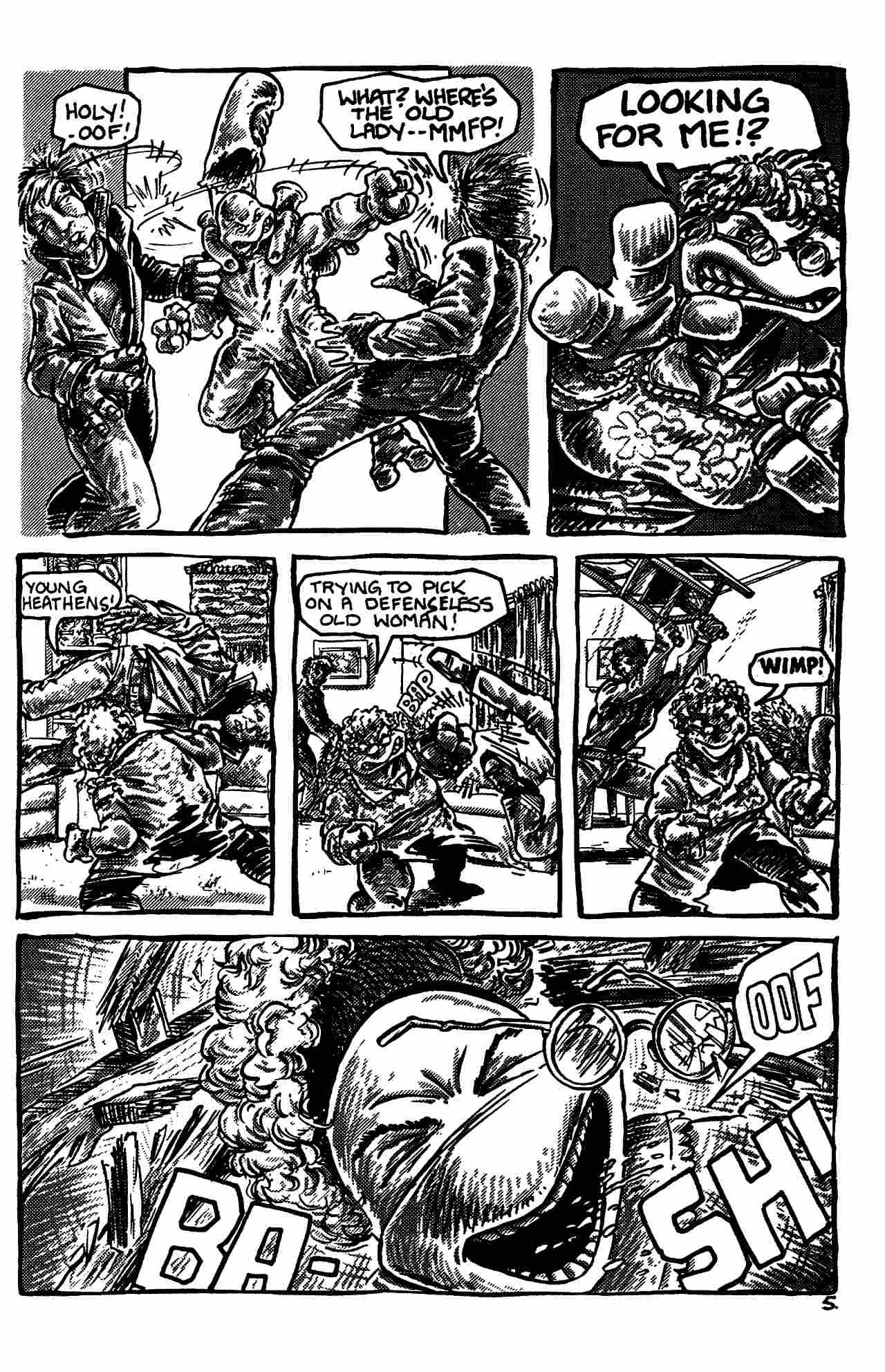 Read online Shell Shock comic -  Issue # Full - 135