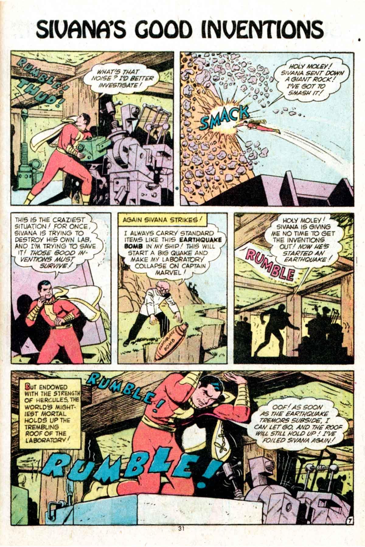 Read online Shazam! (1973) comic -  Issue #15 - 31