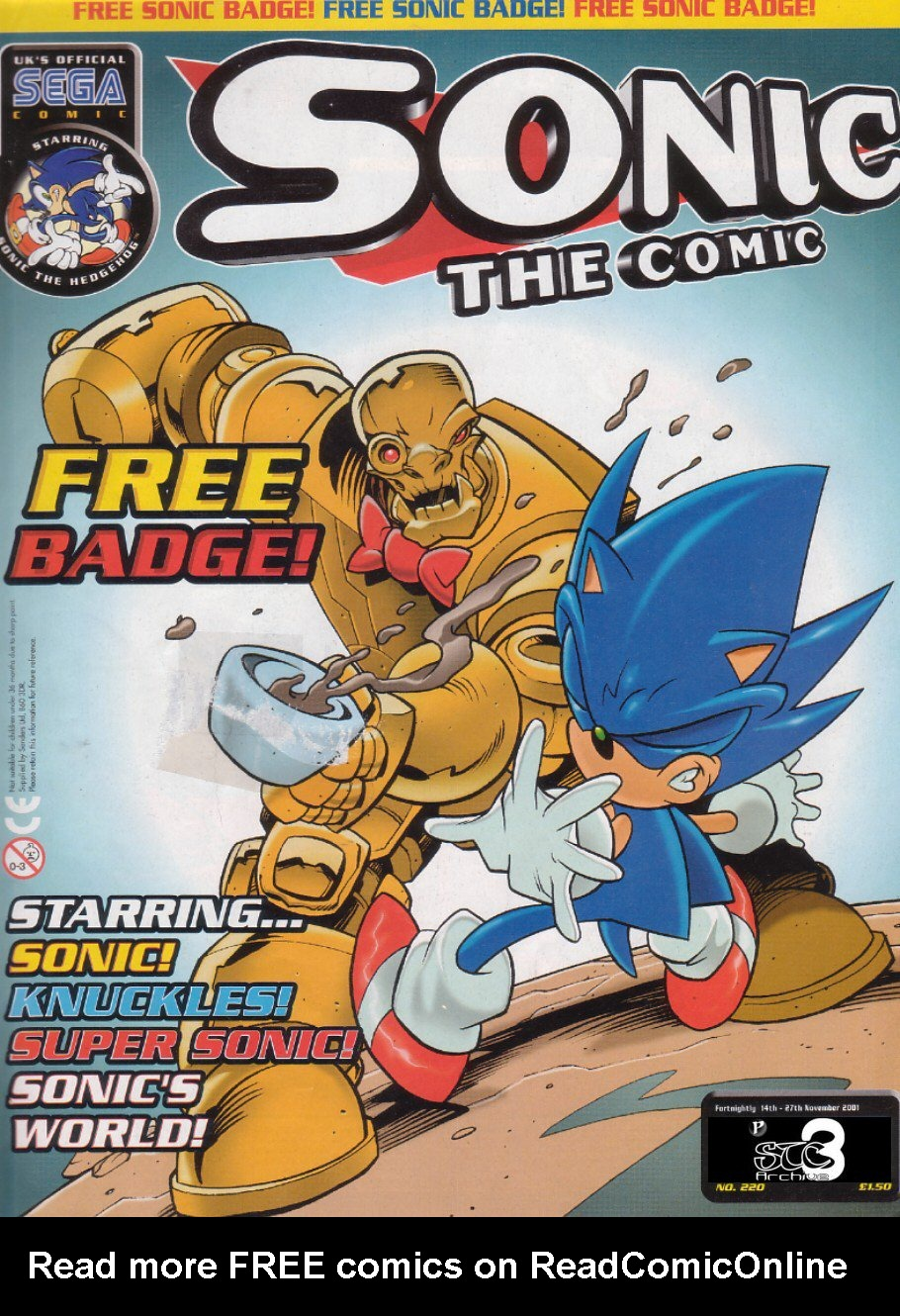 Read online Sonic the Comic comic -  Issue #220 - 1