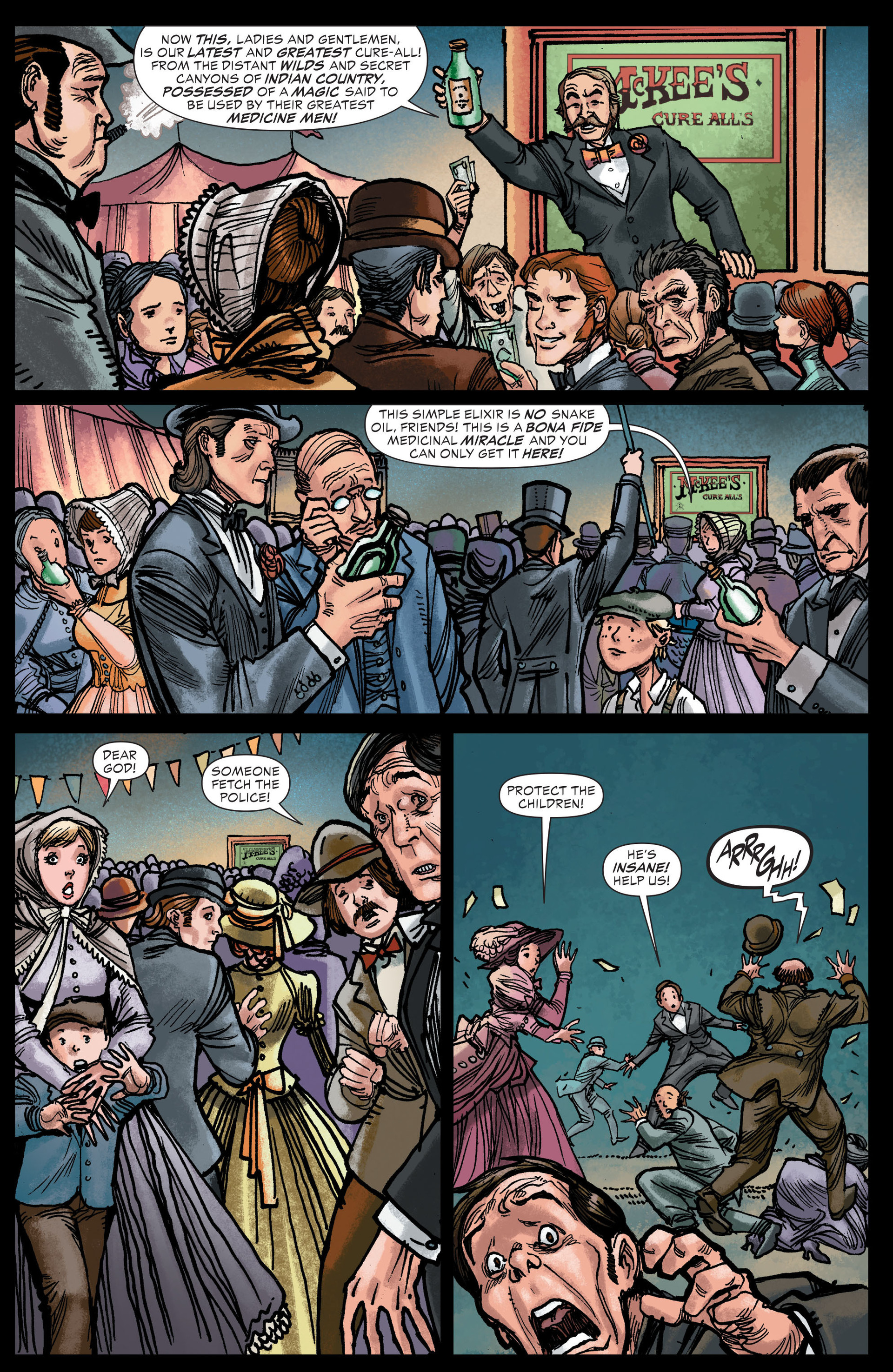 Read online All-Star Western (2011) comic -  Issue #13 - 14