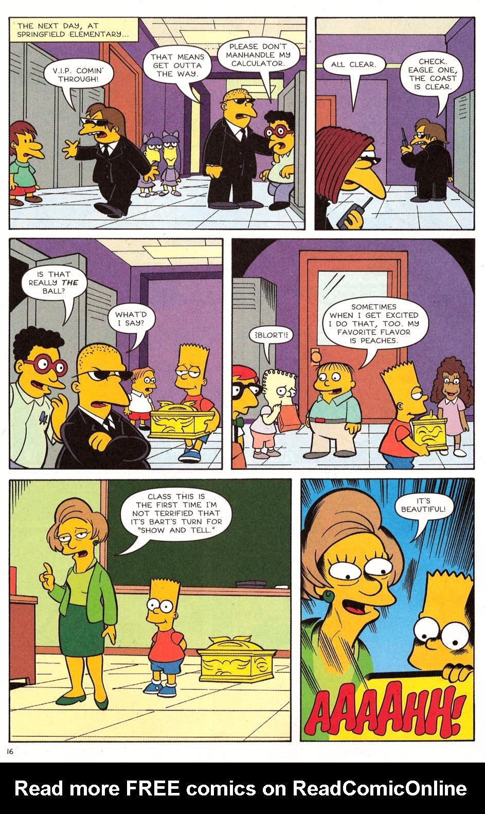 Read online Simpsons Comics comic -  Issue #120 - 13