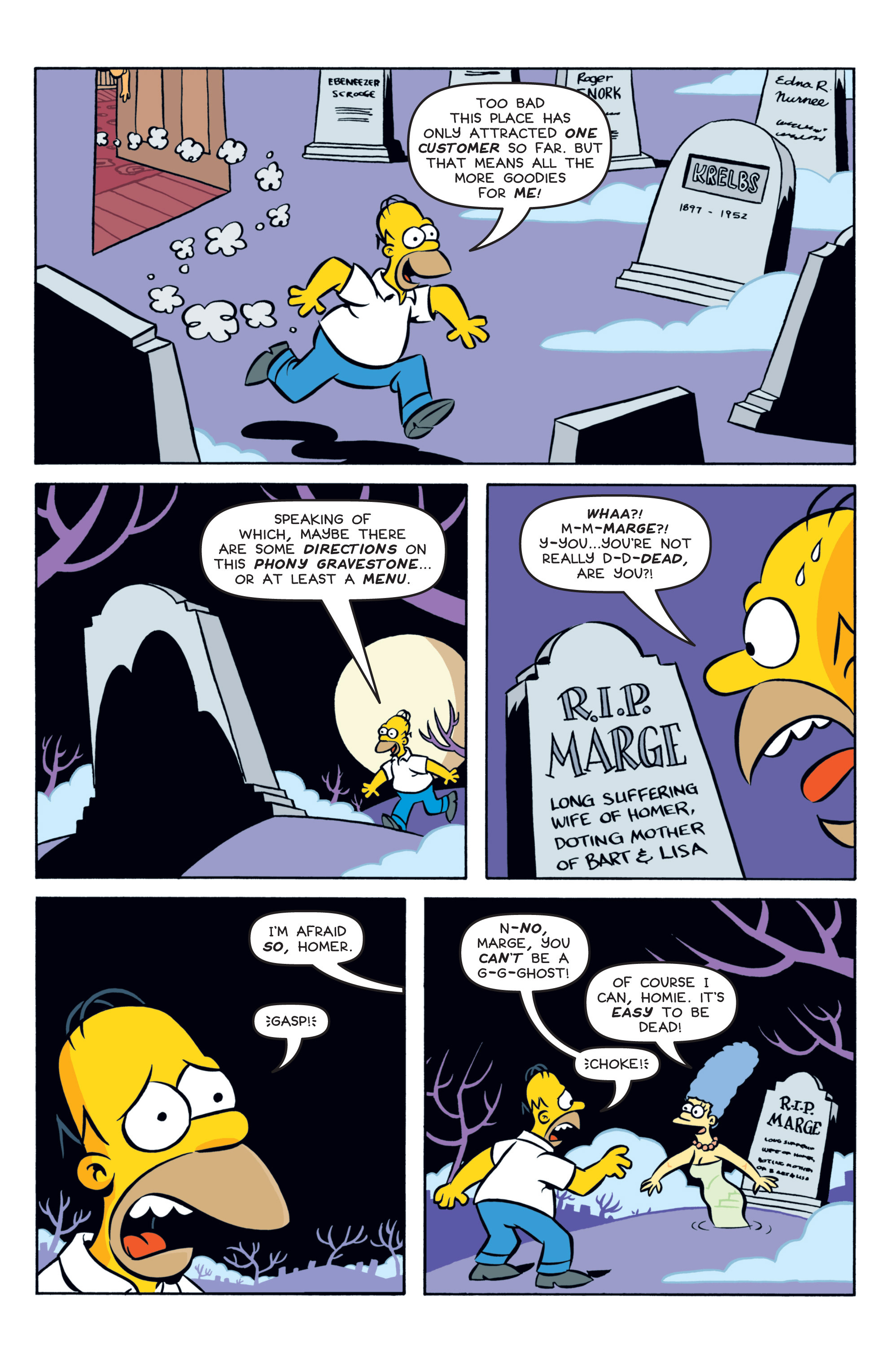 Read online Treehouse of Horror comic -  Issue #19 - 9