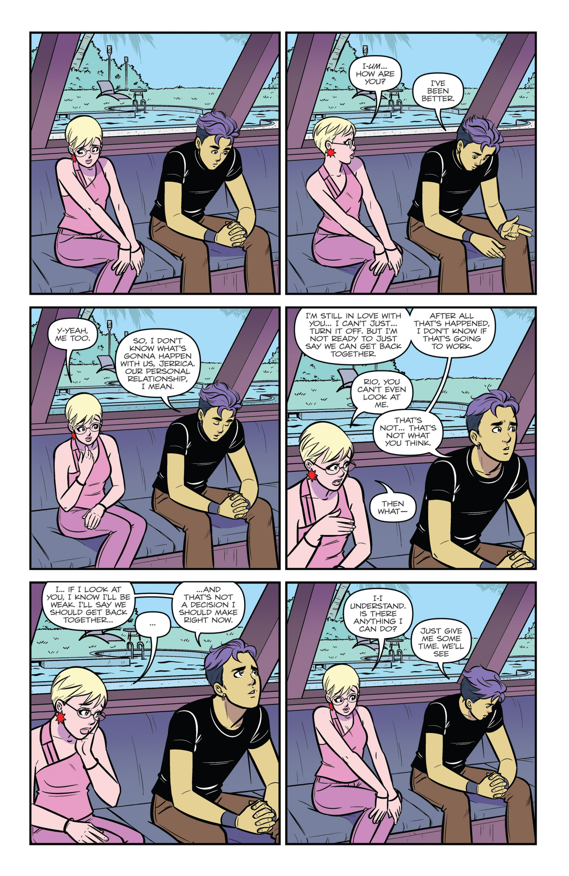 Read online Jem and The Holograms comic -  Issue #26 - 24
