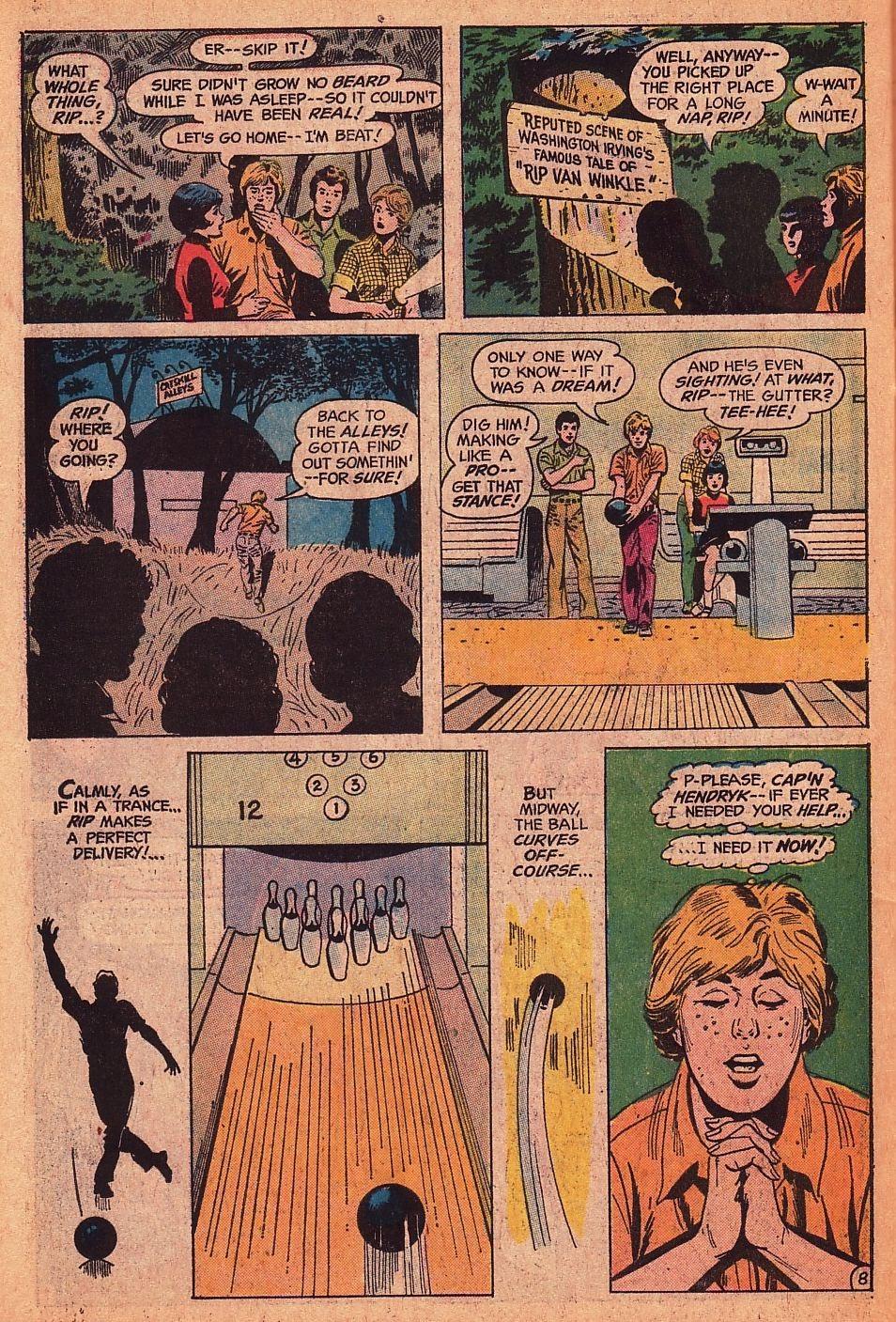 Read online Strange Sports Stories (1973) comic -  Issue #1 - 22