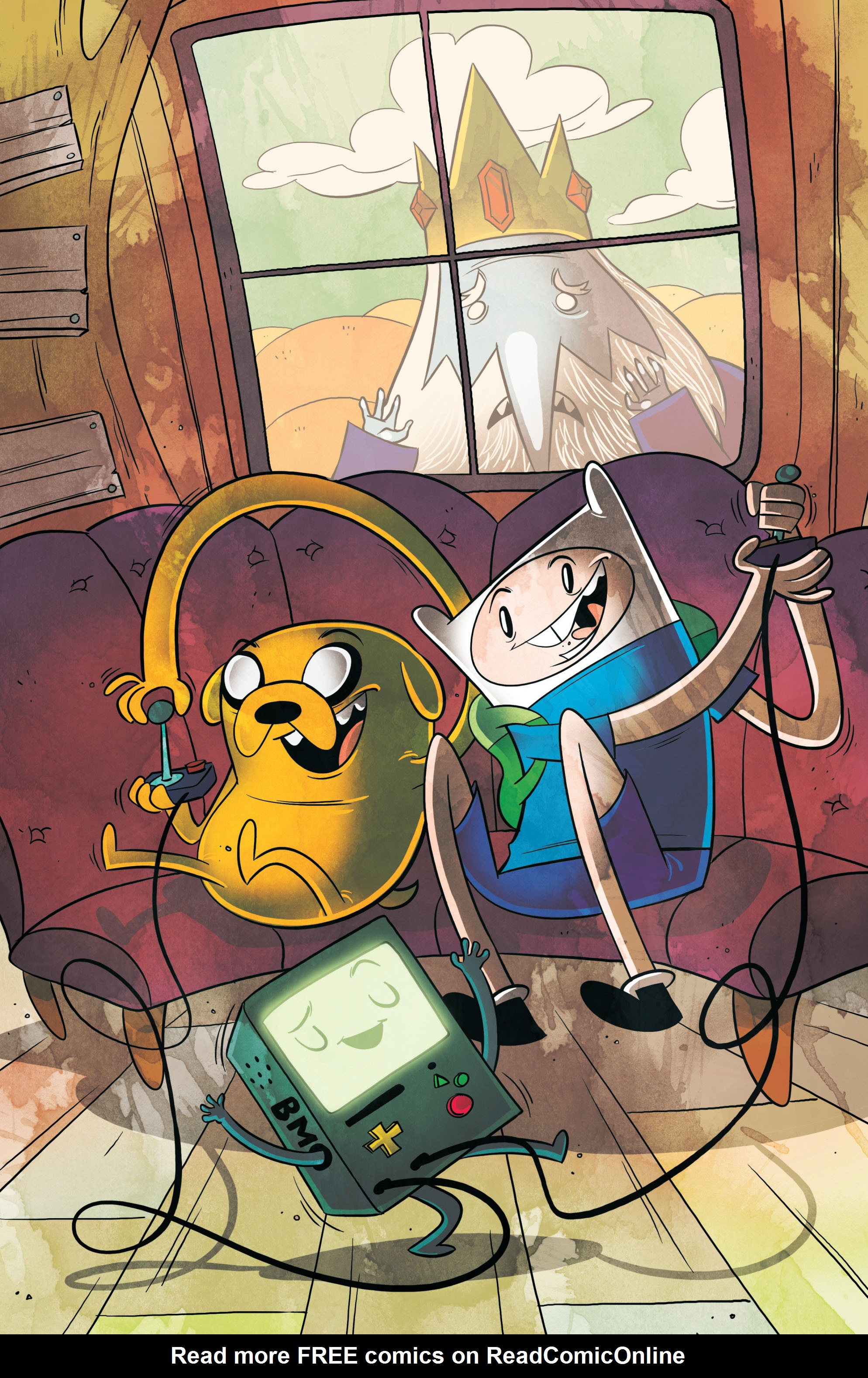 Read online Adventure Time comic -  Issue #5 - 4