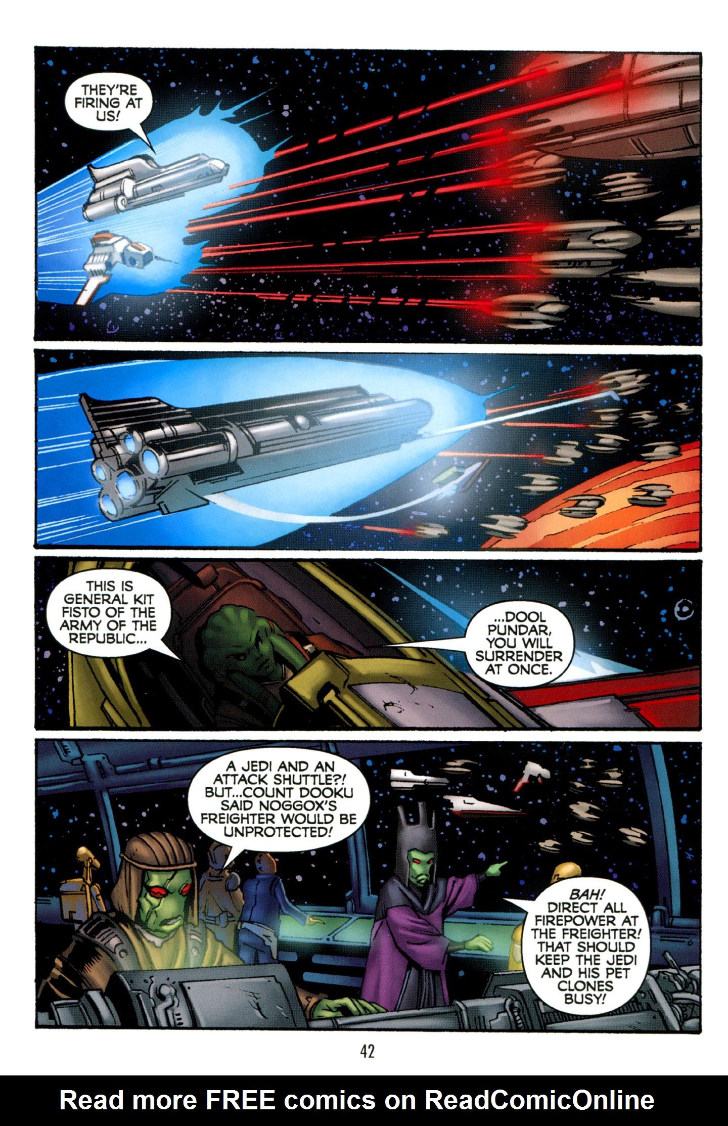 Read online Star Wars: The Clone Wars - Strange Allies comic -  Issue # Full - 43