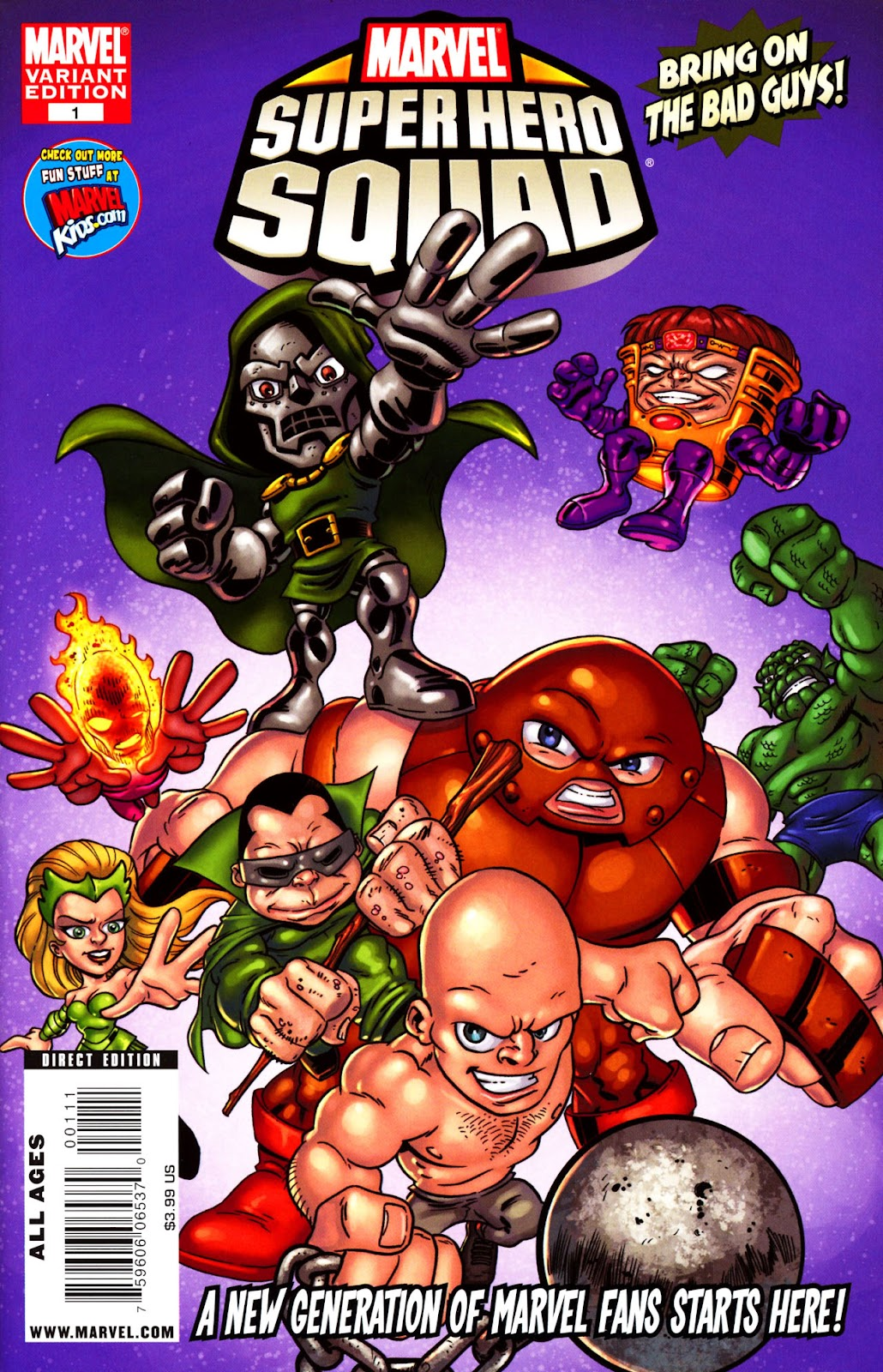 Read online Marvel Super Hero Squad: Hero Up! comic -  Issue # Full - 2