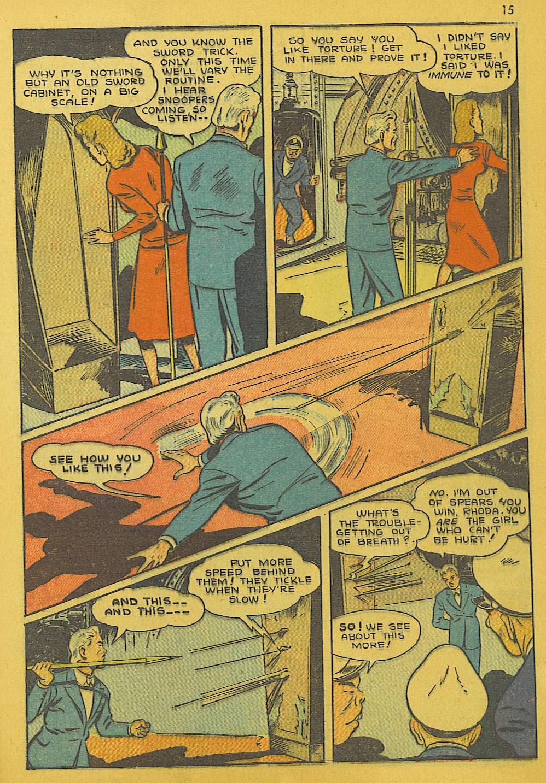 Read online Super-Magician Comics comic -  Issue #10 - 15