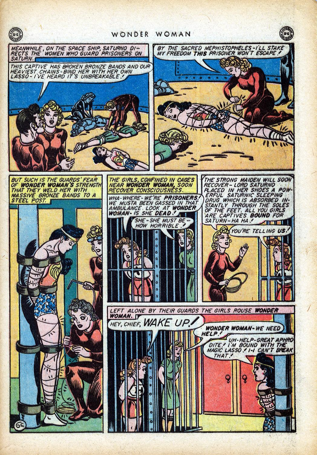 Read online Wonder Woman (1942) comic -  Issue #10 - 44