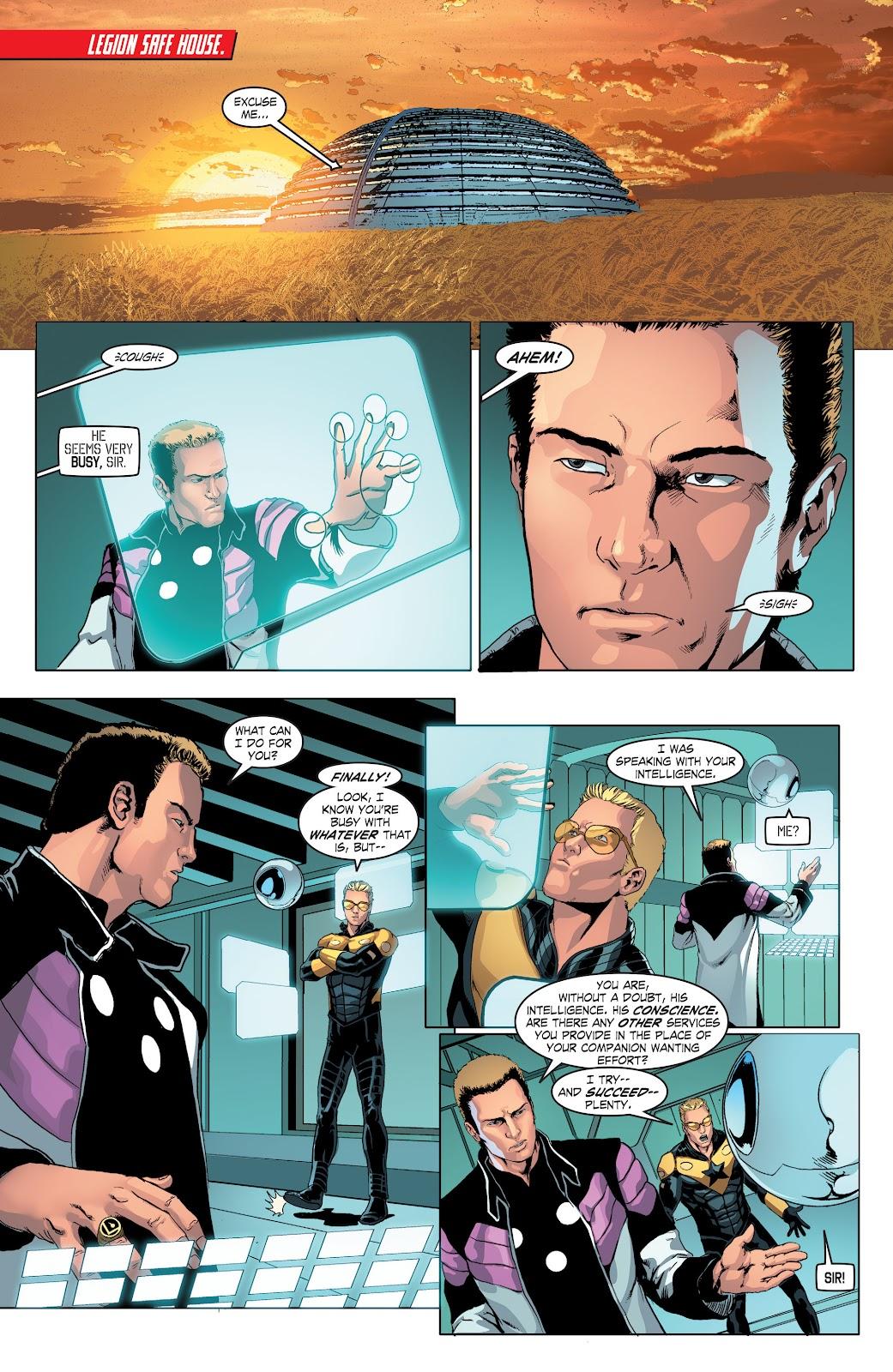 Read online Smallville Season 11 [II] comic -  Issue # TPB 4 - 49