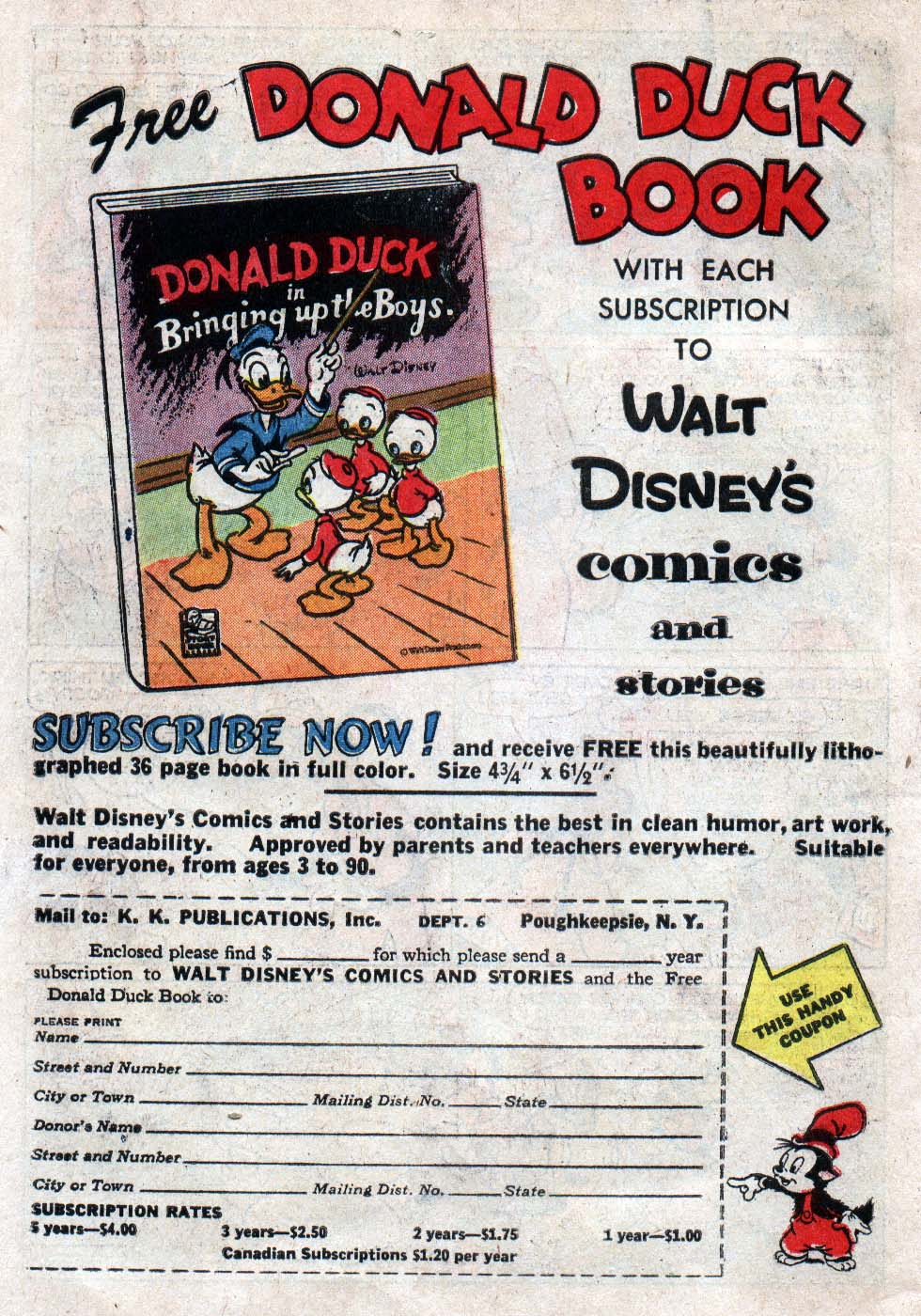 Walt Disney's Comics and Stories issue 225 - Page 33
