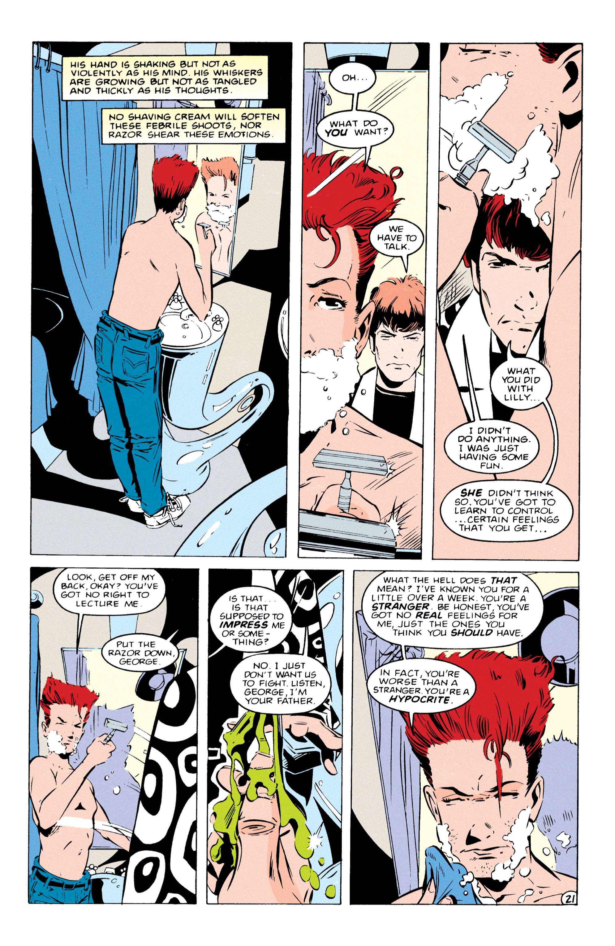 Read online Shade, the Changing Man comic -  Issue #55 - 22
