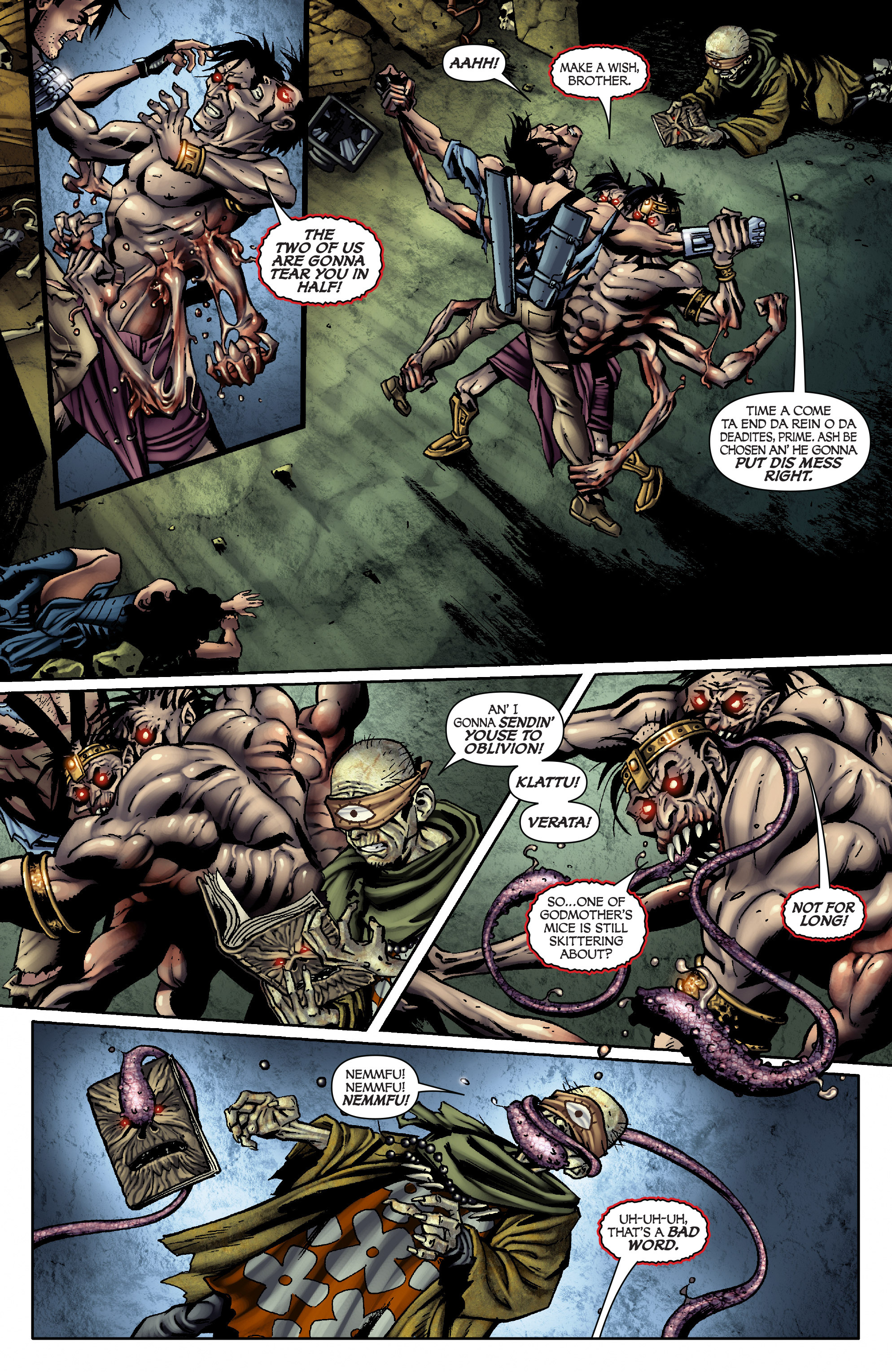 Read online Army of Darkness: From the Ashes comic -  Issue #Army of Darkness: From the Ashes TPB - 97
