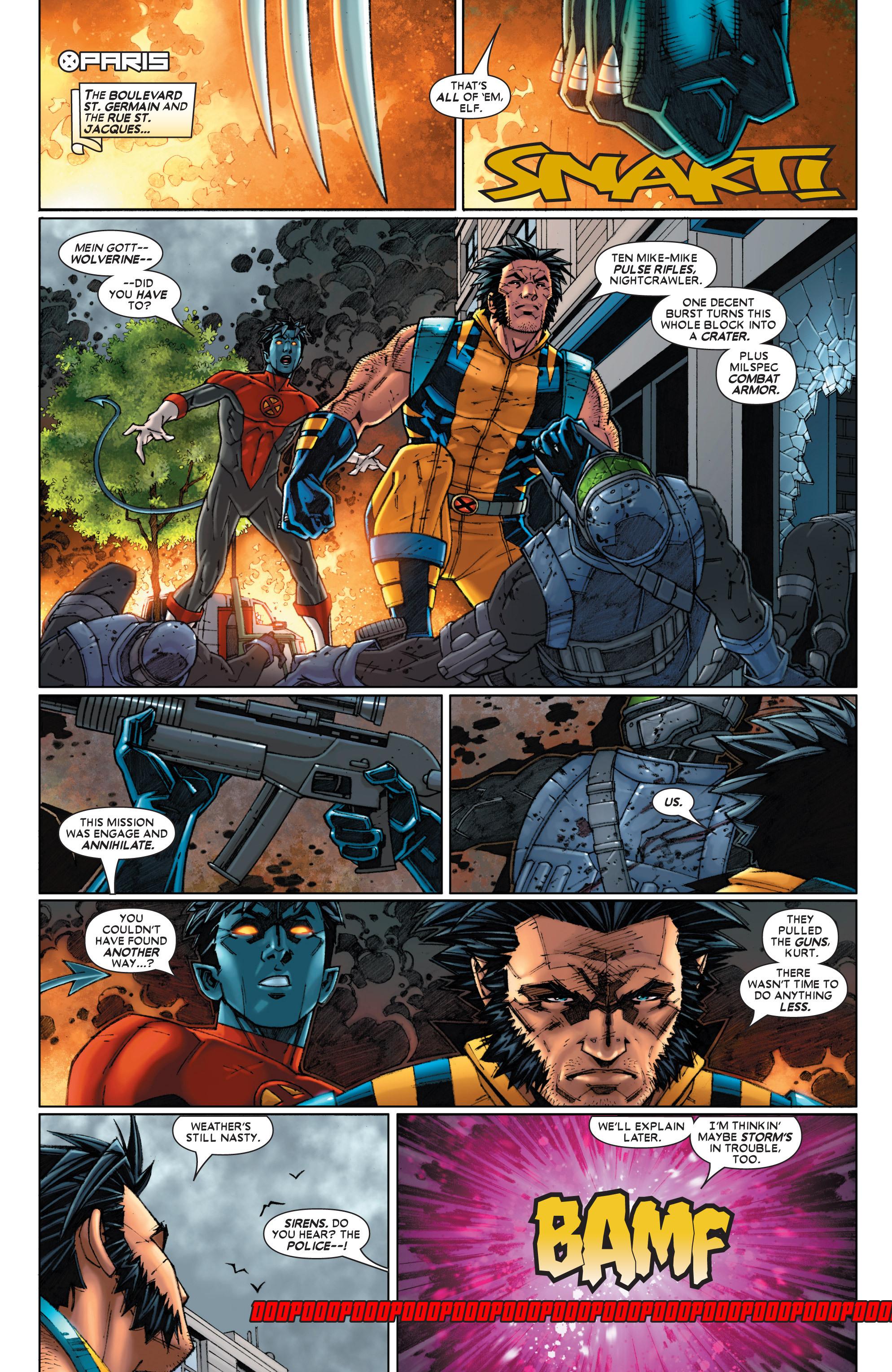 Read online Uncanny X-Men (1963) comic -  Issue #454 - 11