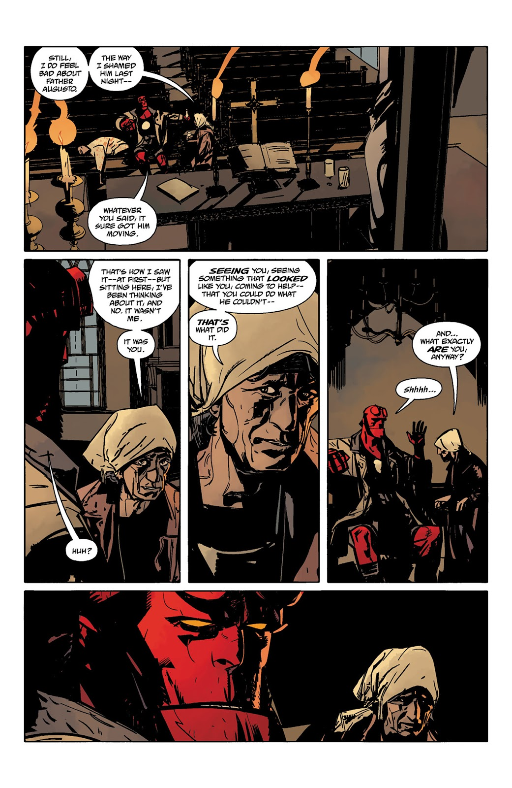 Read online Hellboy and the B.P.R.D. comic -  Issue # _TPB - 44