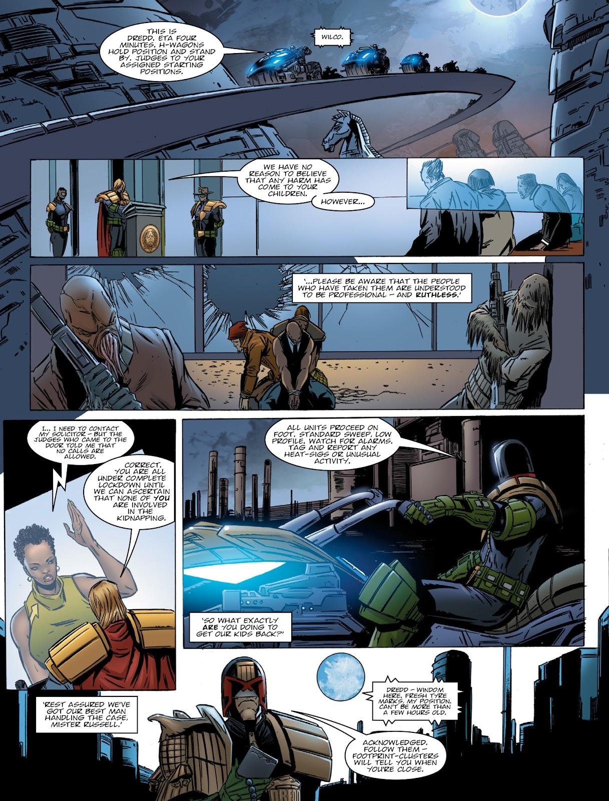 Judge Dredd Megazine (Vol. 5) Issue #381 #180 - English 9