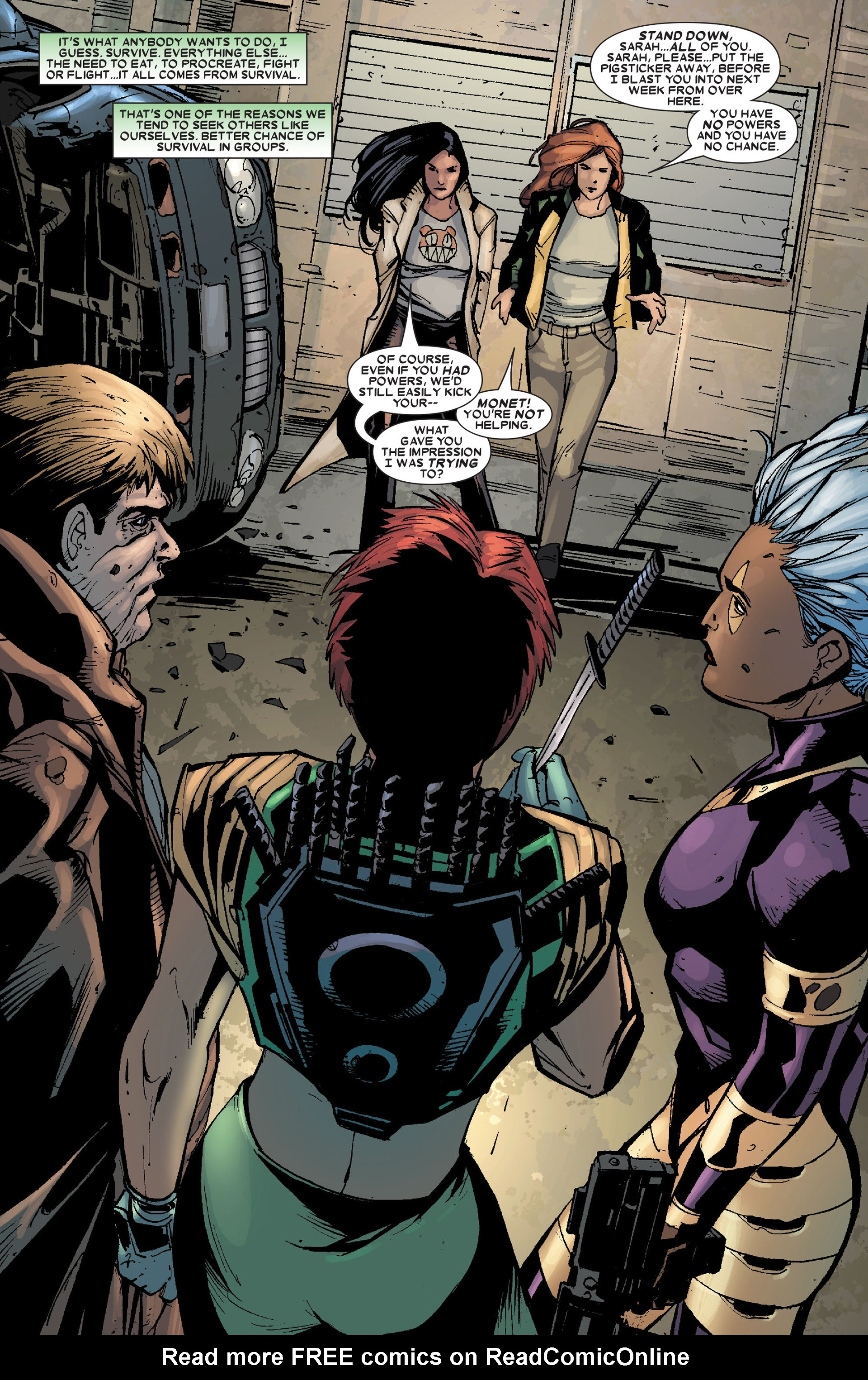 Read online X-Factor (2006) comic -  Issue #19 - 7