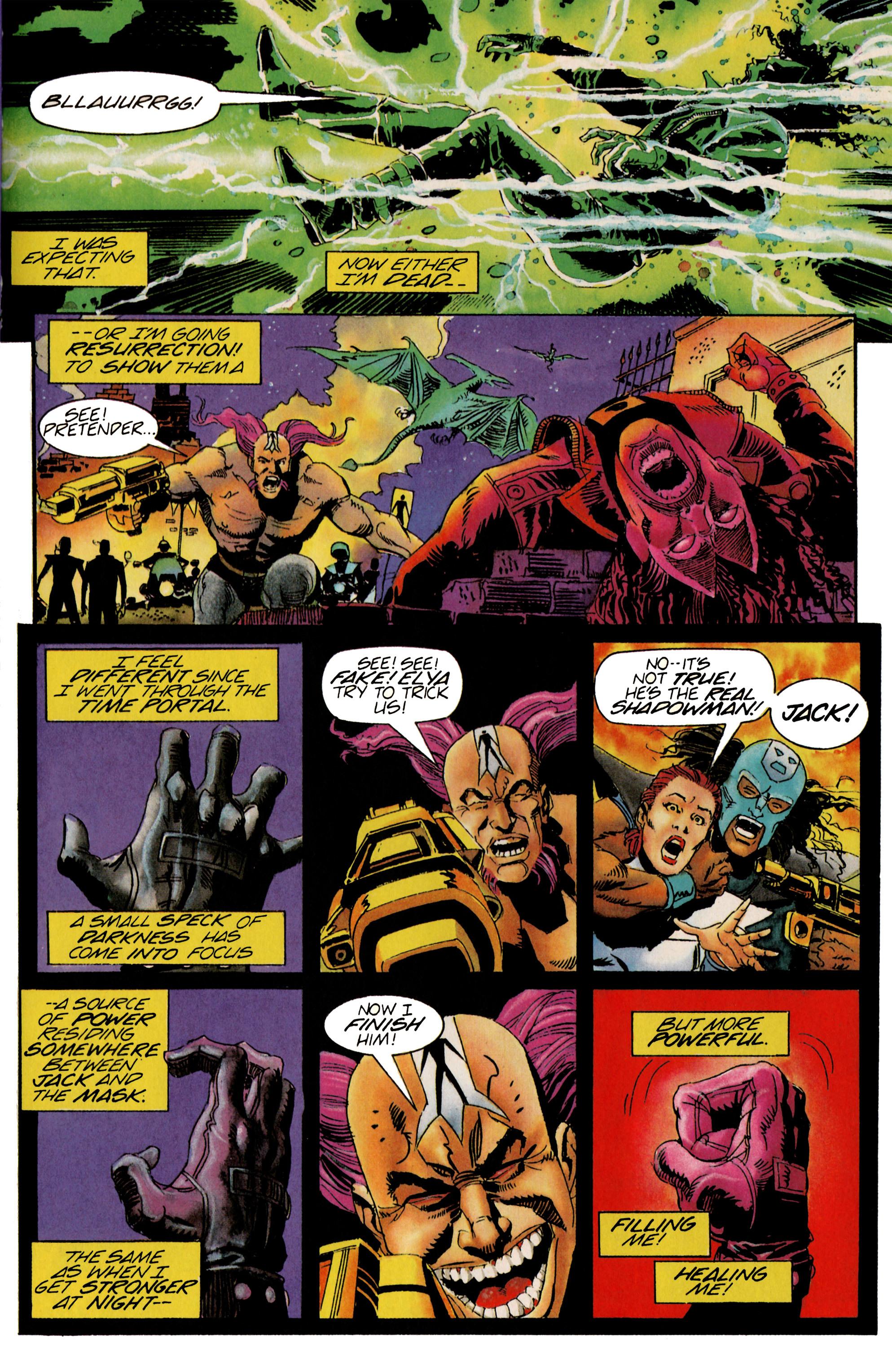 Read online Shadowman (1992) comic -  Issue #21 - 18