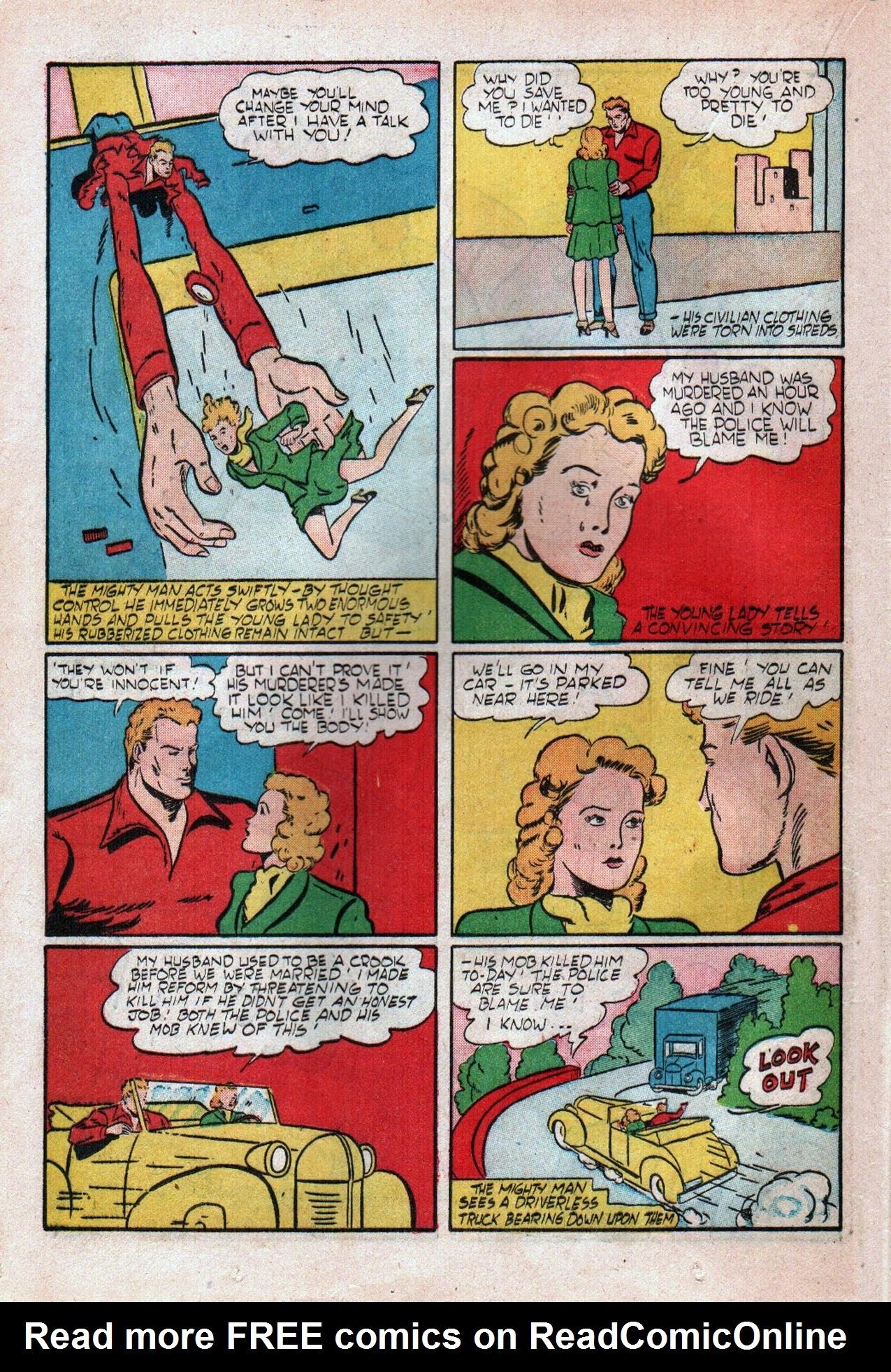 Read online Amazing Man Comics comic -  Issue #20 - 31