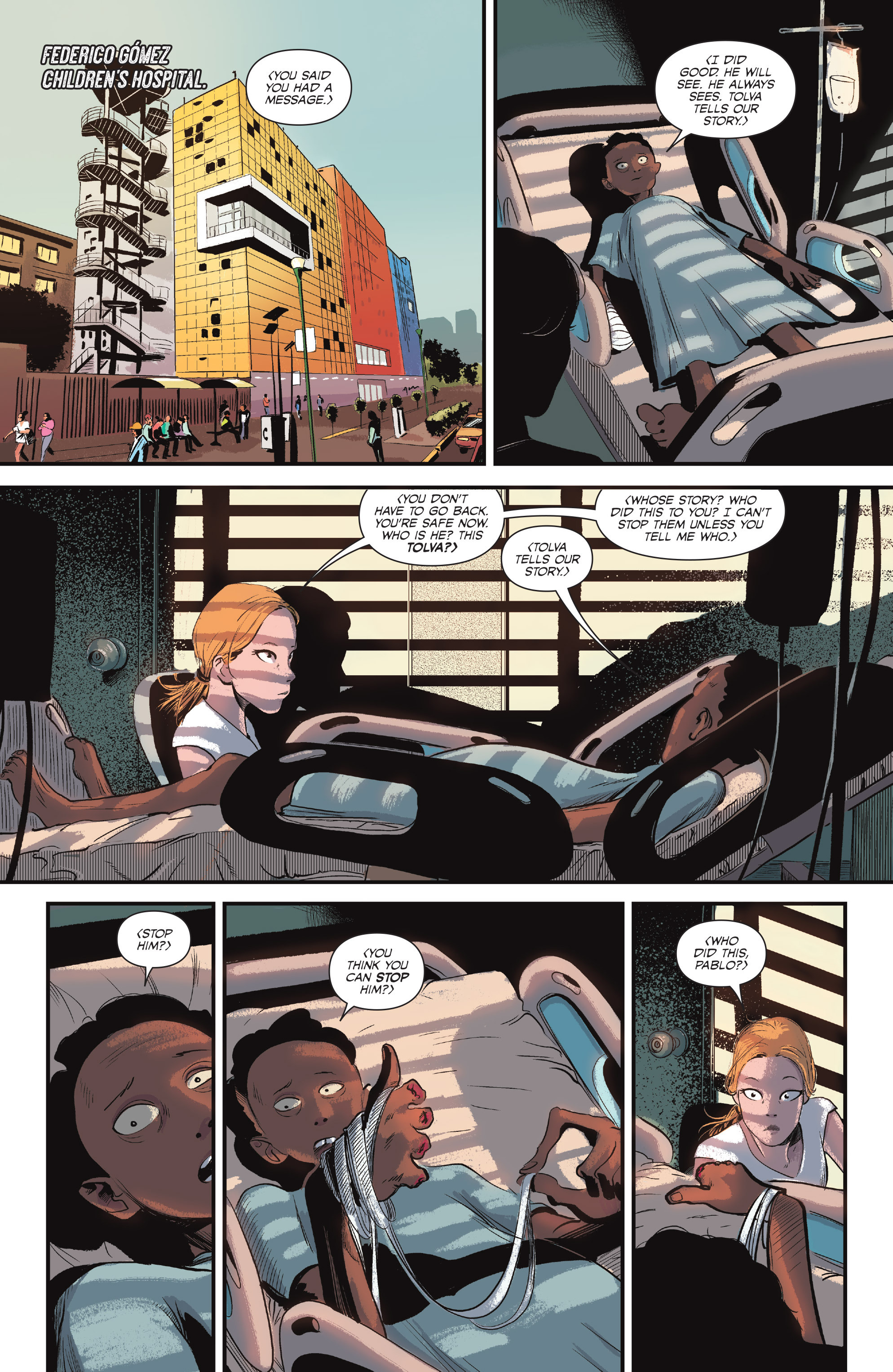 Read online Sombra comic -  Issue #1 - 14