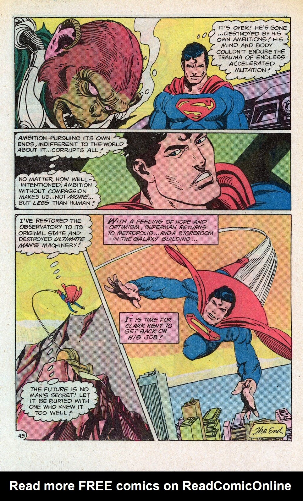 Read online Superman Special (1983) comic -  Issue #1 - 50