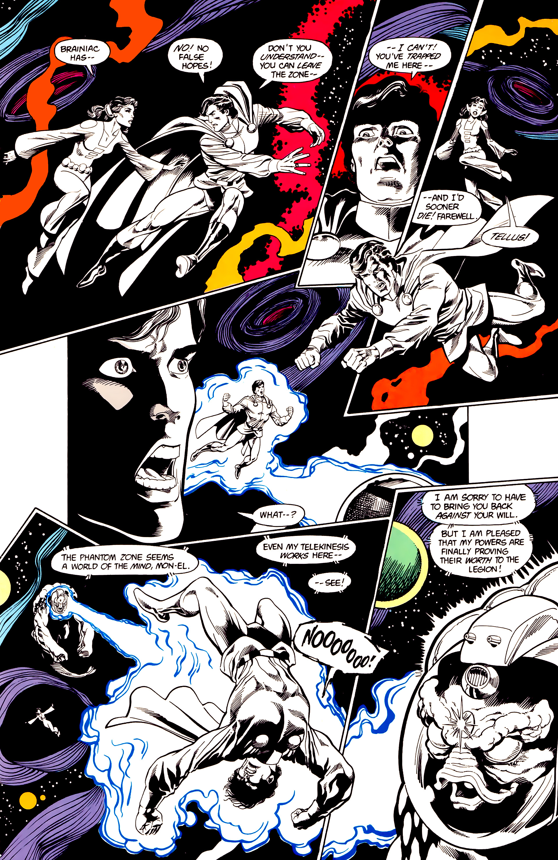Legion of Super-Heroes (1984) 23 Page 24