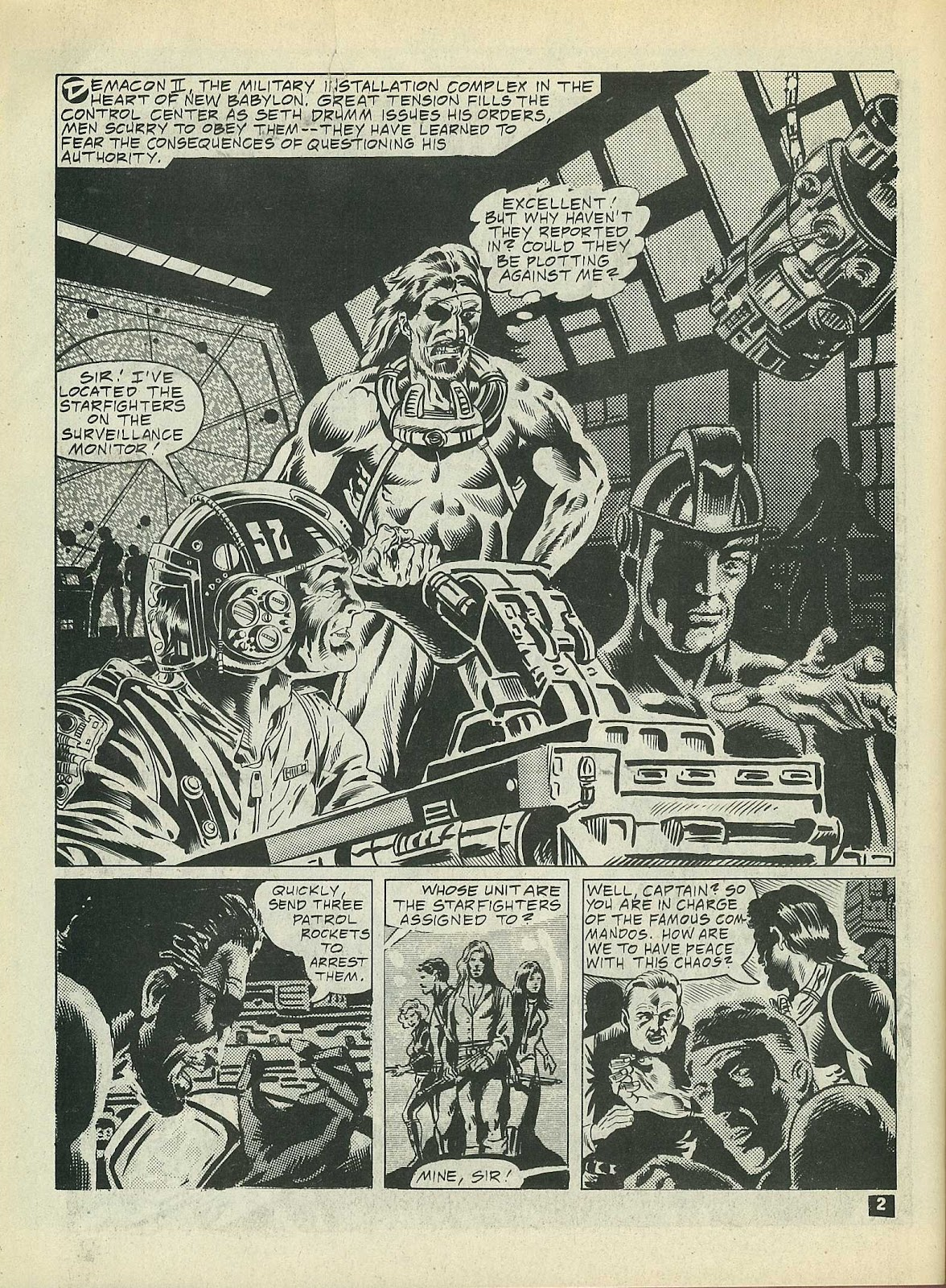Star Fighters issue 3 - Page 4