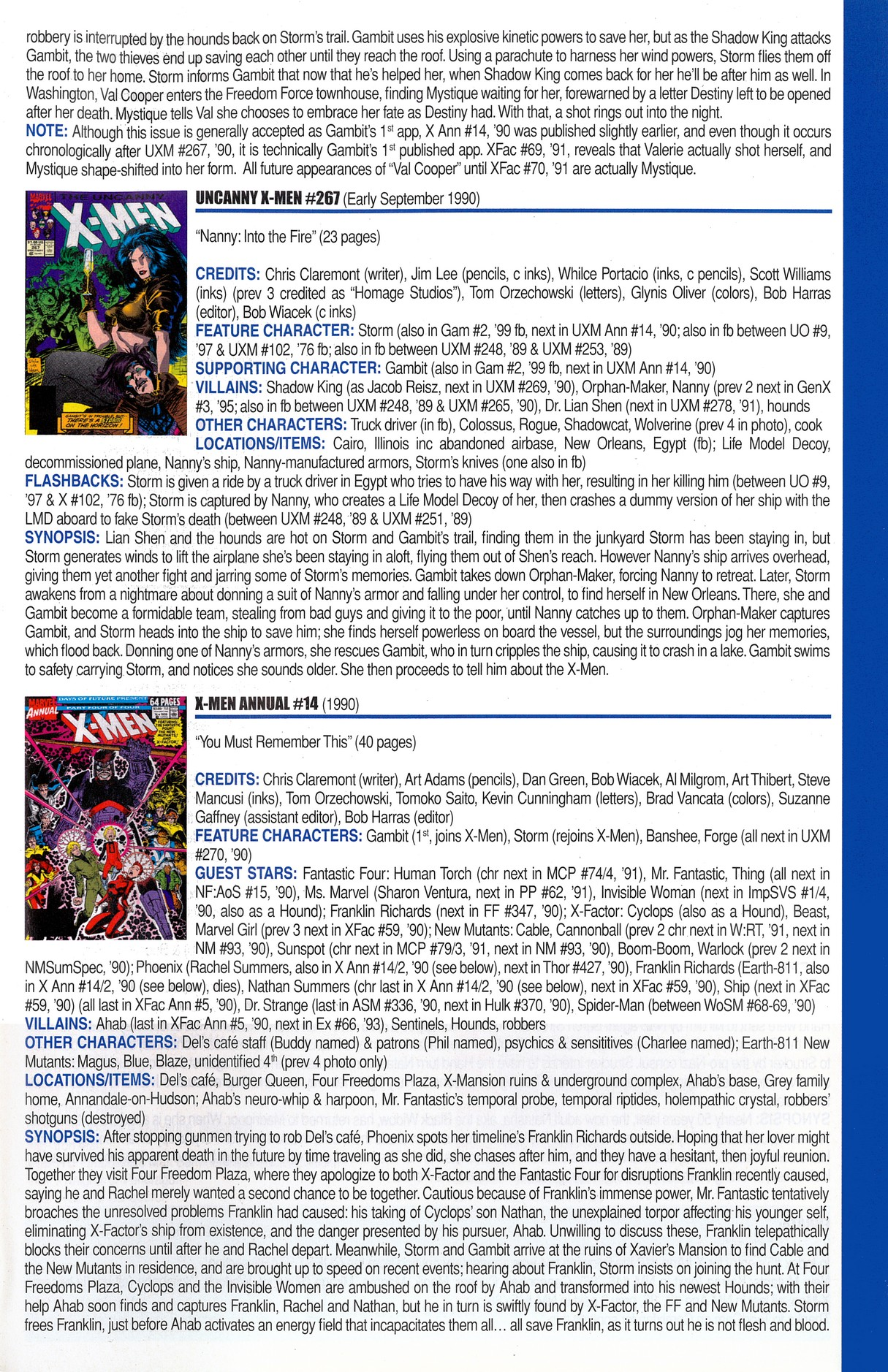Read online Official Index to the Marvel Universe comic -  Issue #6 - 65