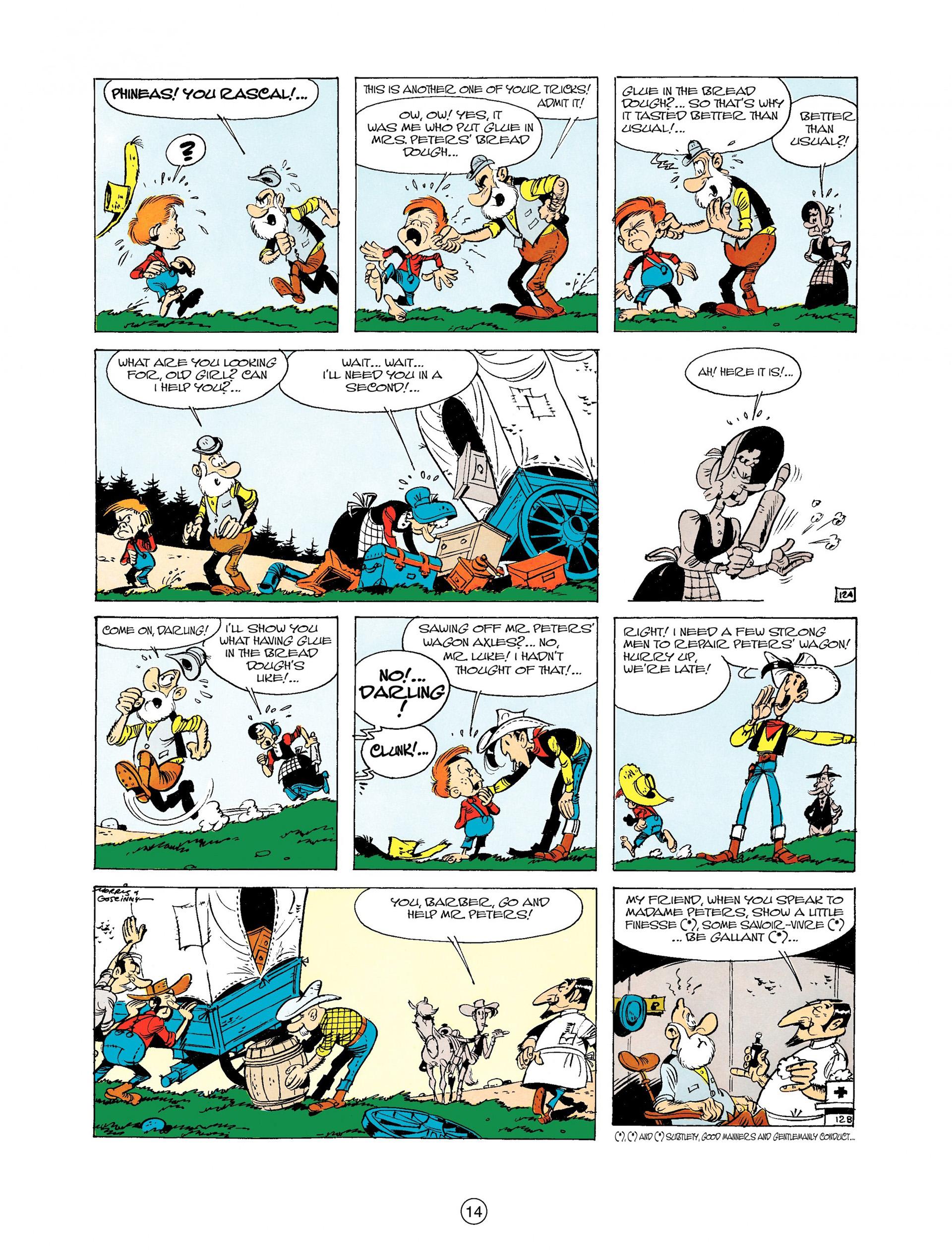 Read online A Lucky Luke Adventure comic -  Issue #9 - 14