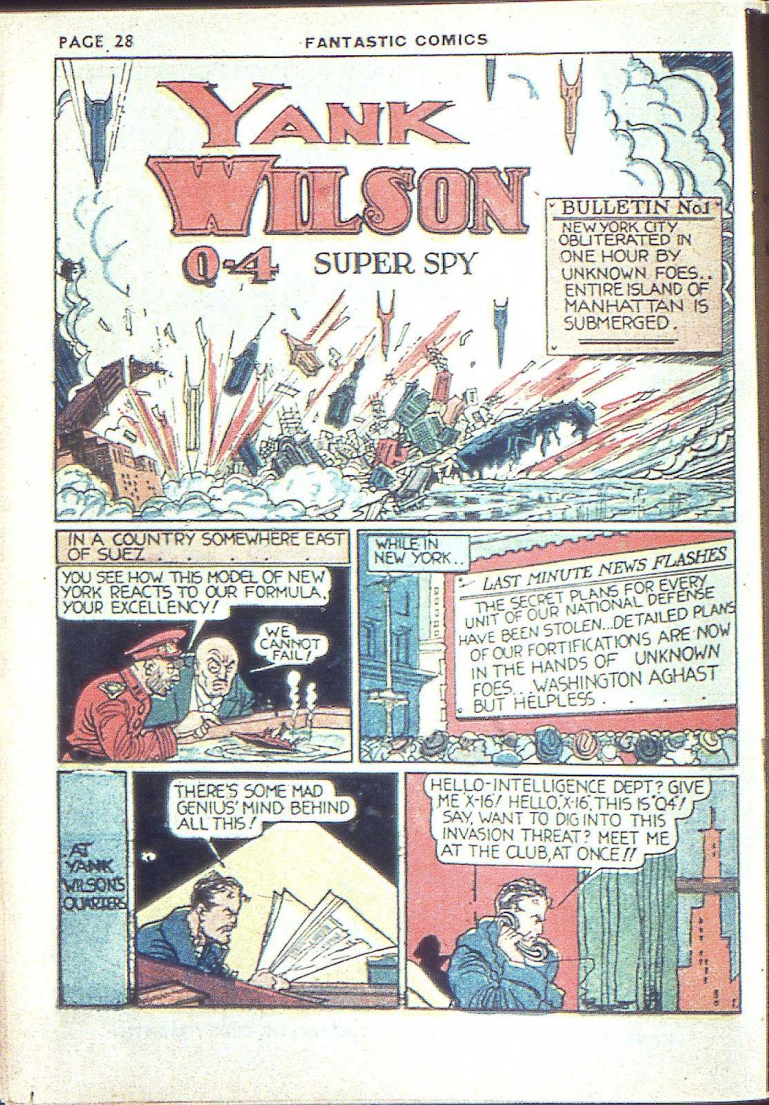 Read online Fantastic Comics comic -  Issue #3 - 31